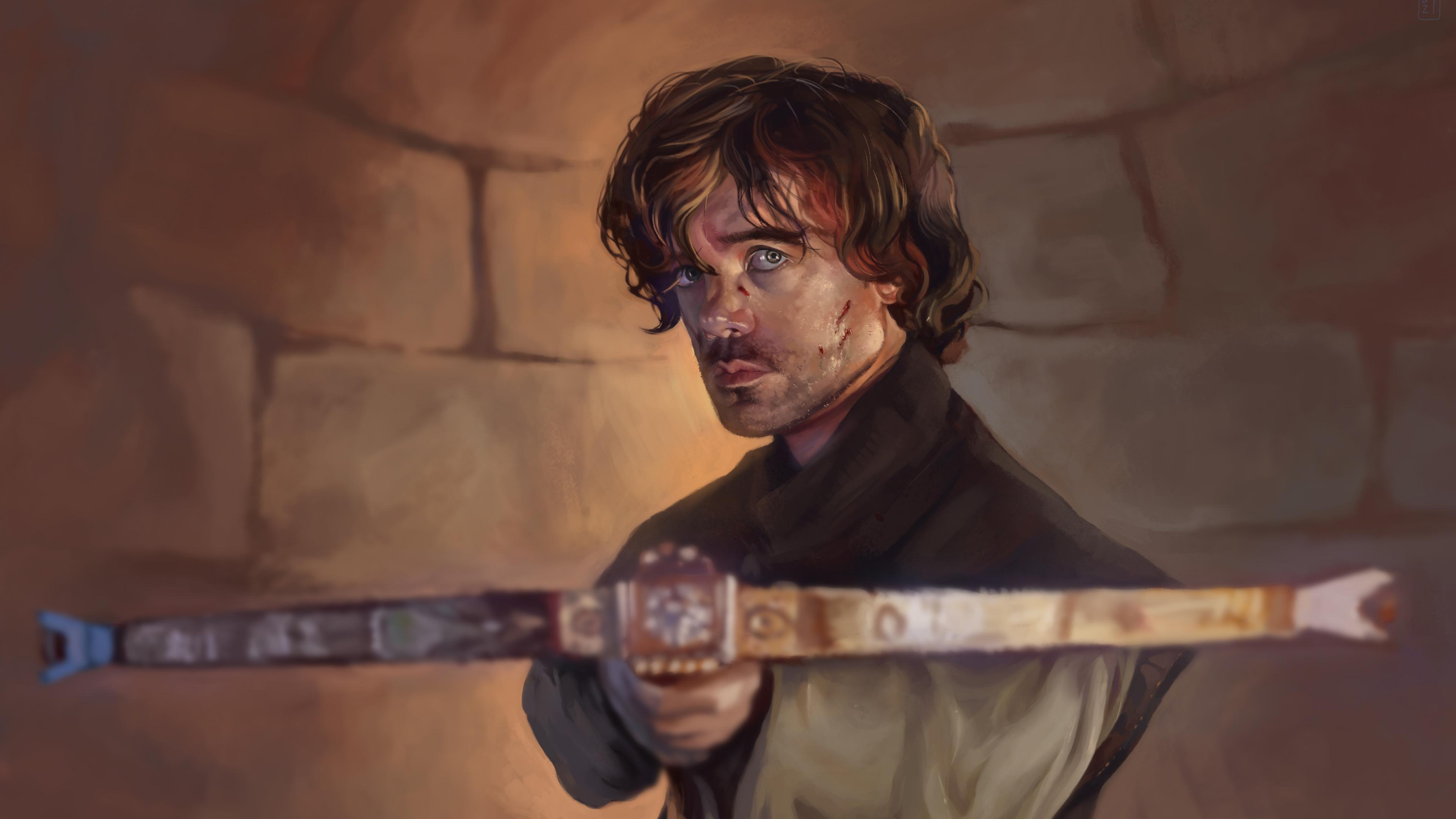 4k Game Of Thrones Tyrion Lannister Best Wallpaper - Game Of Thrones Tyrion Lannister Wallpaper 4k - HD Wallpaper