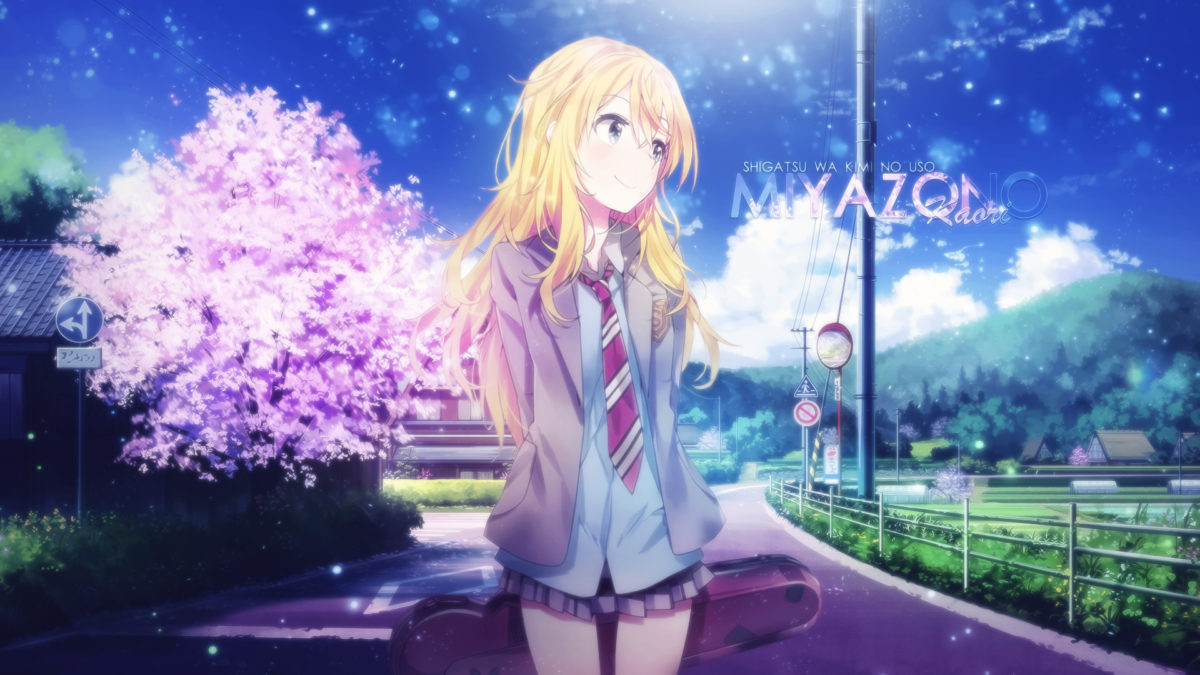 Best Desktop Background Hd Anime Anime Wallpapers Hd Your Lie In April Wallpaper Engine 1200x675 Wallpaper Teahub Io