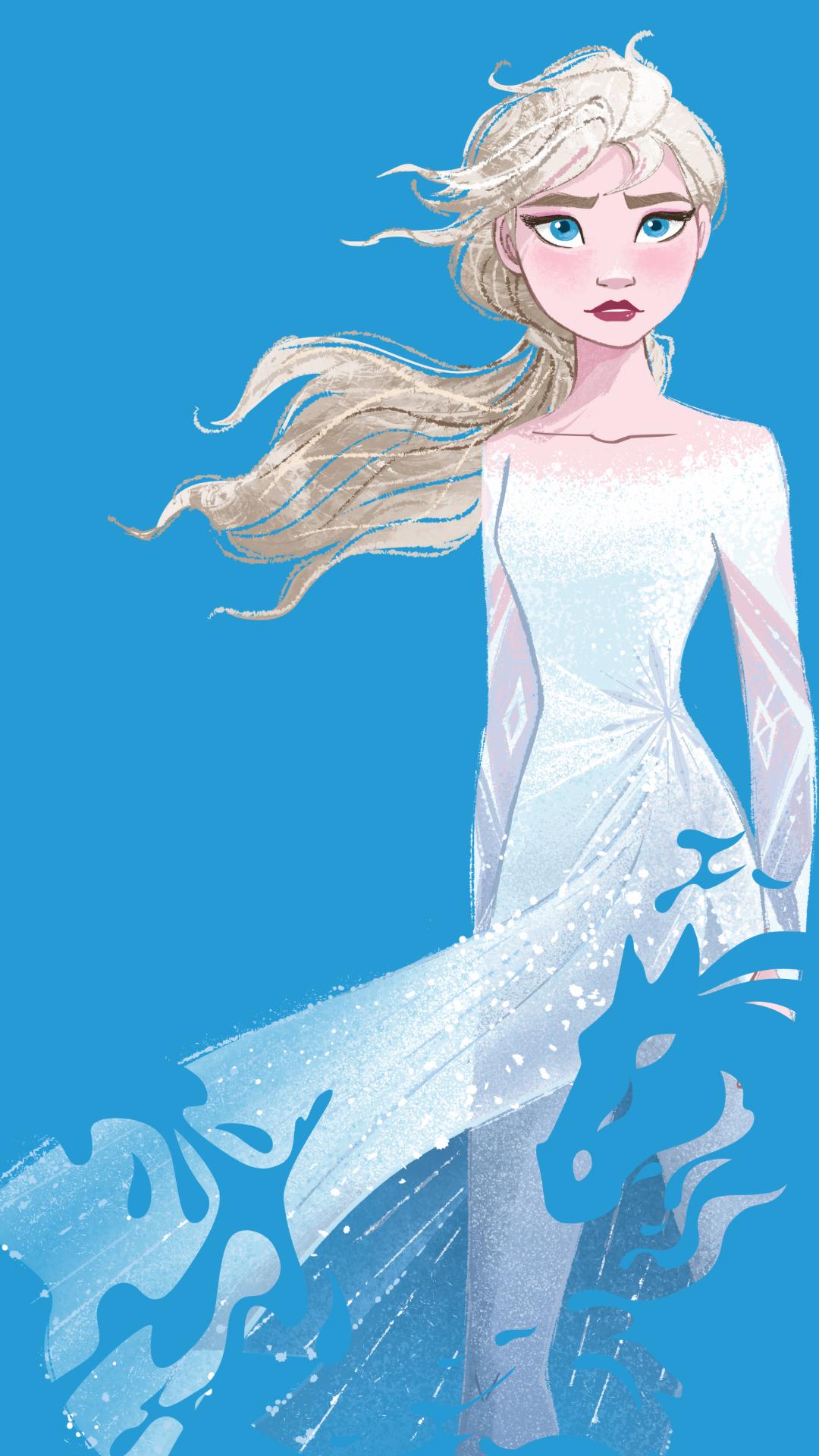 Elsa Phone Wallpaper - Frozen 2 Elsa Nokk - HD Wallpaper