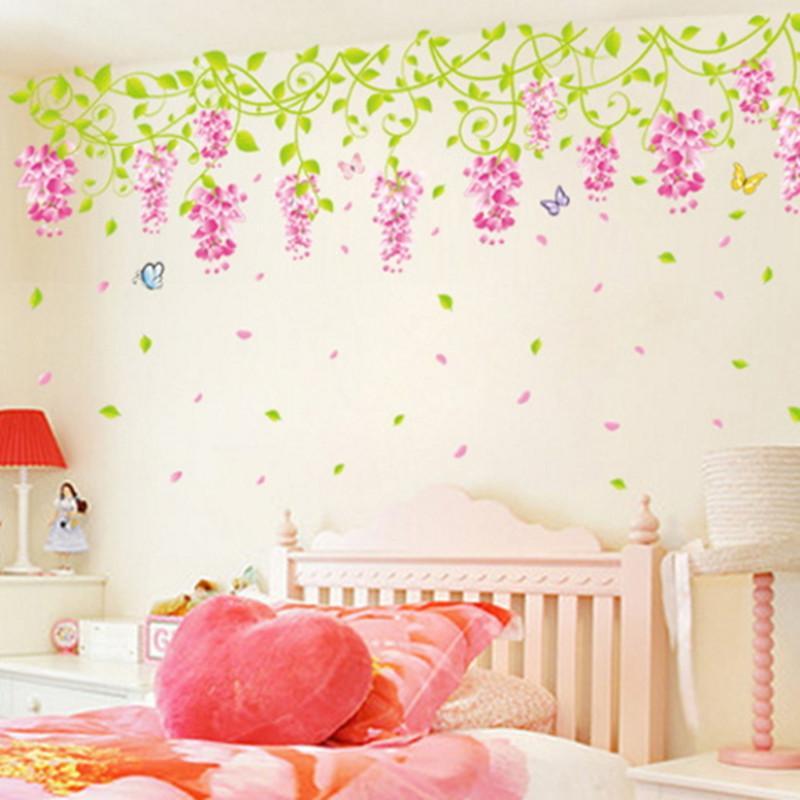 Girls Bedroom Wall Stickers - HD Wallpaper