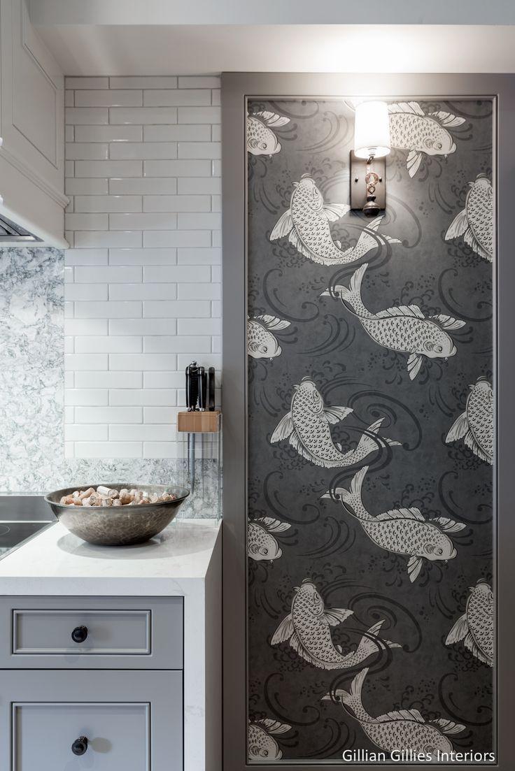 Osborne And Little Koi Wallpaper - Derwent Osborne And Little - HD Wallpaper