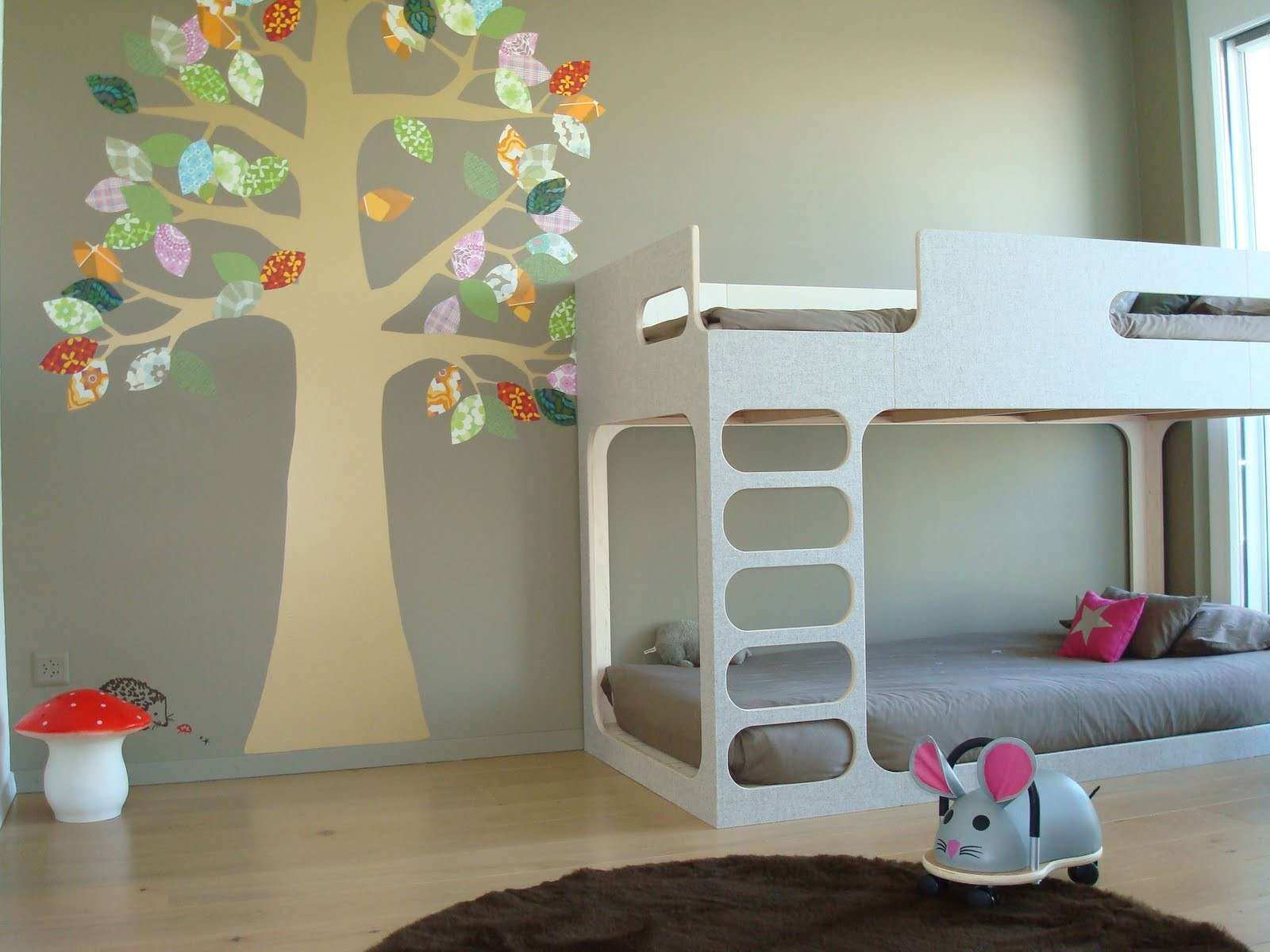 Wall Pictures For Bedroom Awesome Childrens Bedroom - Room Wallpaper Designs For Kids - HD Wallpaper