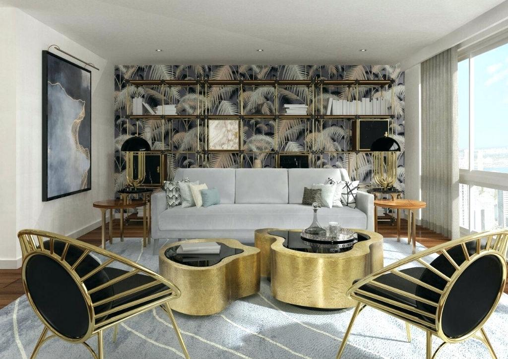 Wallpaper For Living Room Modern Modern Wallpaper Inspiring - Modern Wallpaper Interior Design - HD Wallpaper