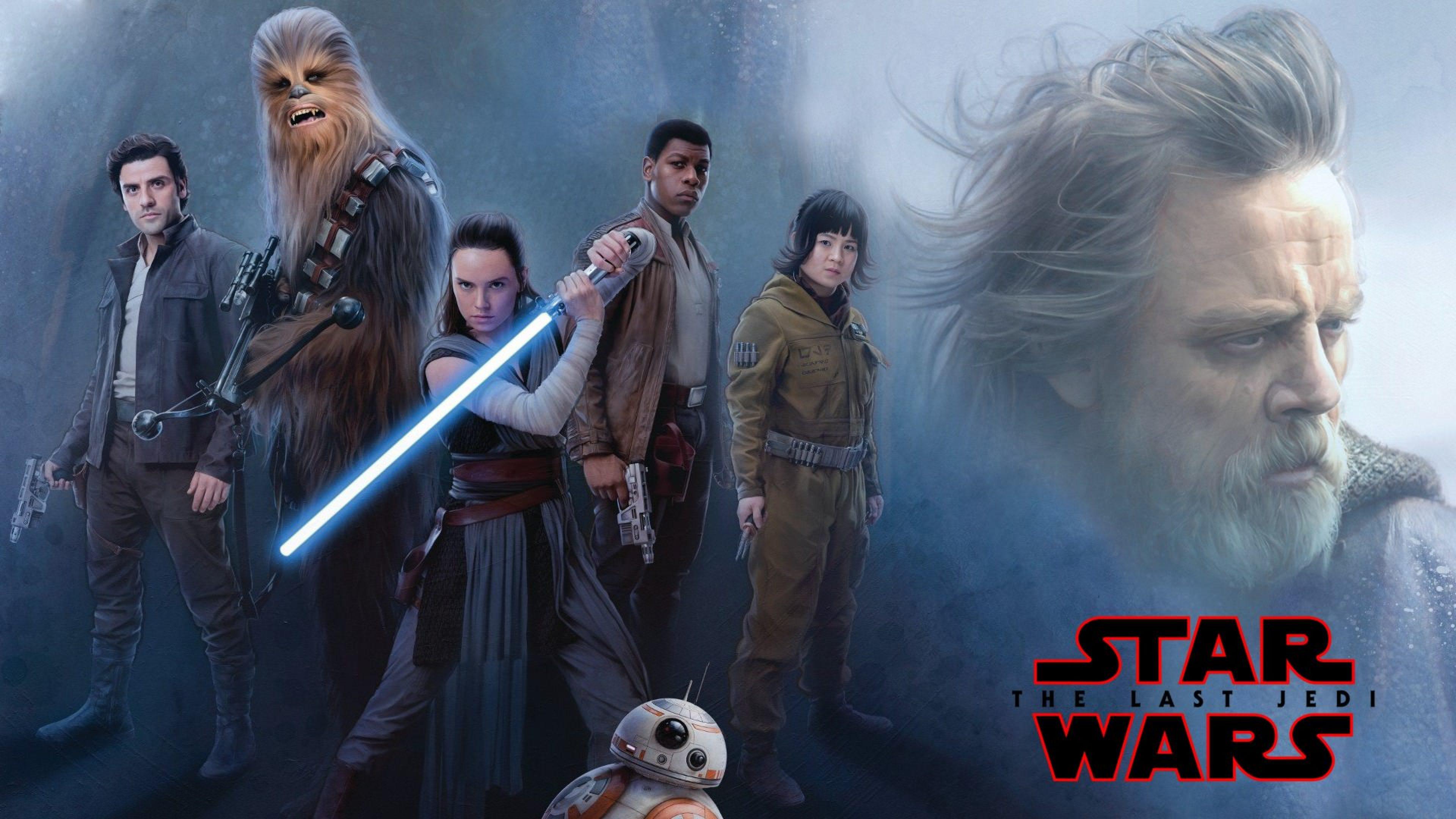 Star Wars The Last Jedi Resistance 3840x2160 Wallpaper Teahub Io