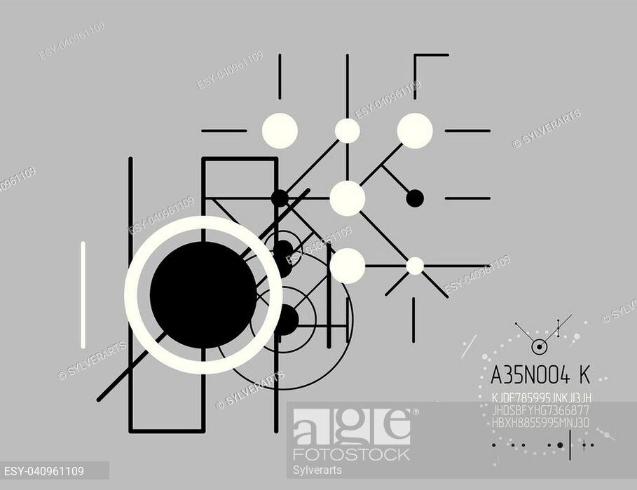 Futuristic Abstract Vector Technology Background - Diagram - HD Wallpaper