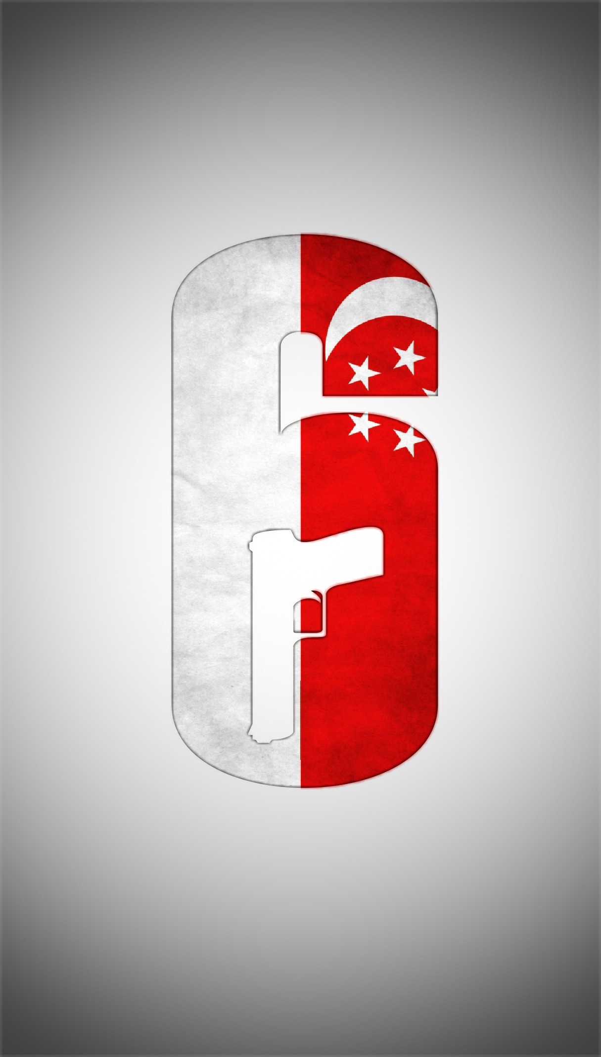 Siege Singapore Flag And Saf Camo Logo Wallpapers   - Rainbow Six Siege Red Logo - HD Wallpaper