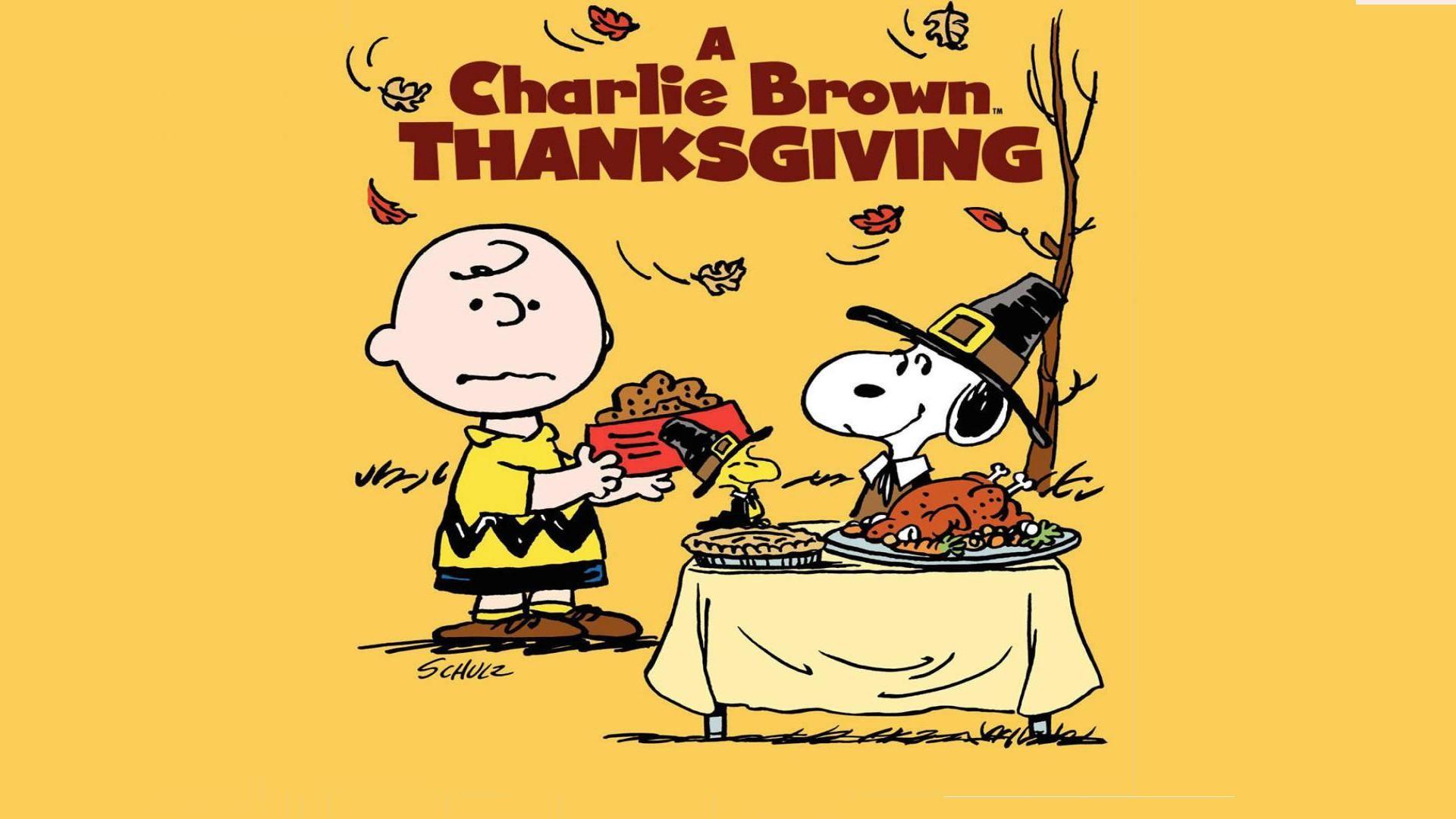 Charlie Brown Thanksgiving Wallpaper - Charlie Brown Thanksgiving Abc 2019 - HD Wallpaper