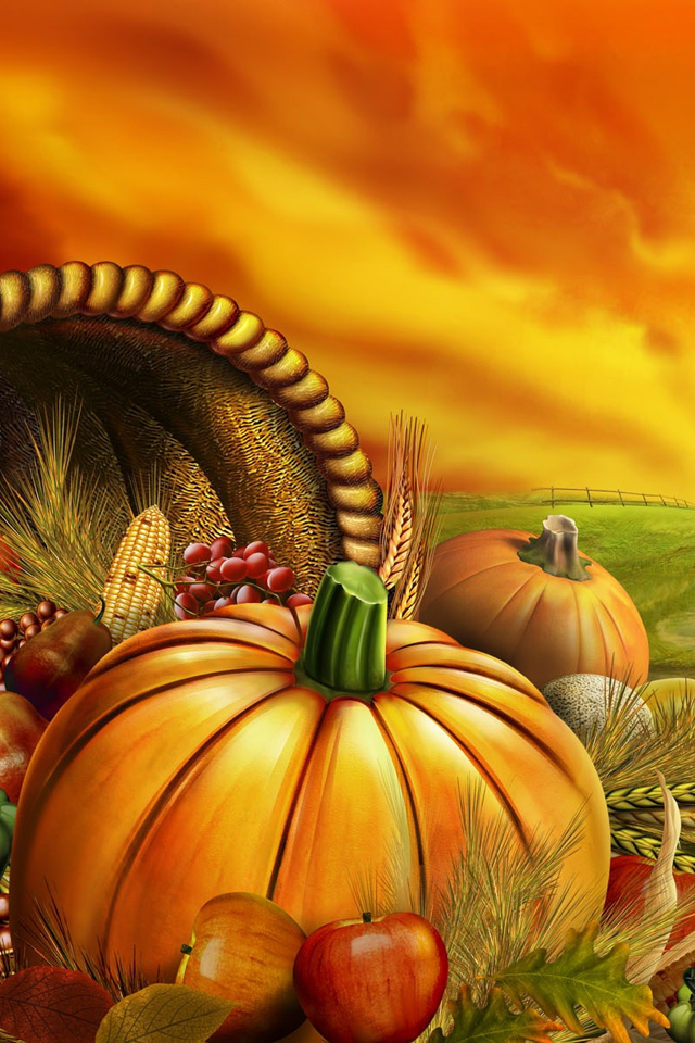Thanksgiving Interactive Persona - Thanksgiving Wallpapers For I Phone - HD Wallpaper