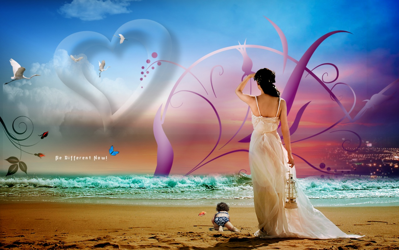 Waiting In Love Wallpapers - Romantic Picture Hd Quality - HD Wallpaper