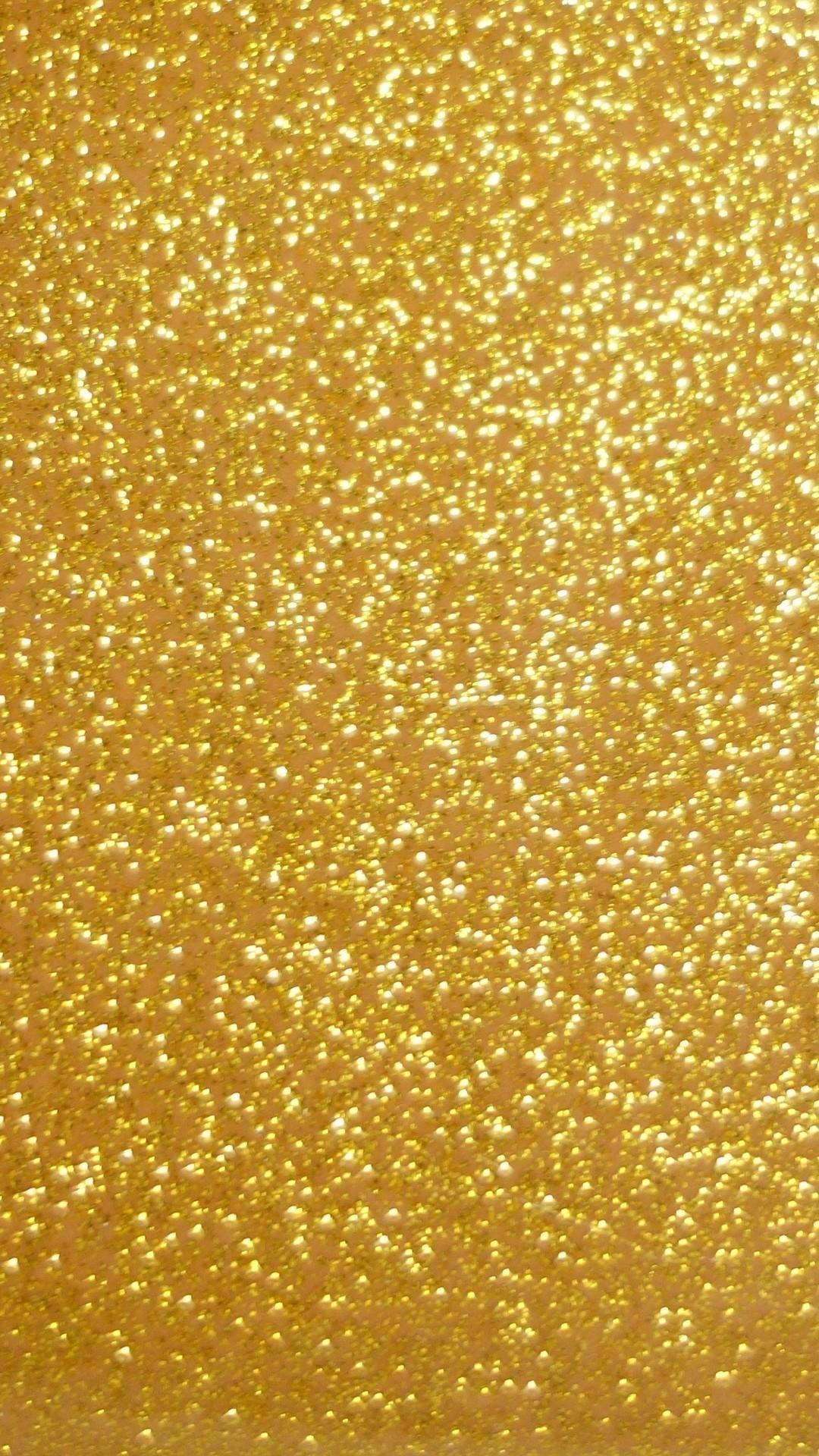 Wallpaper Gold Glitter Iphone Resolution - Gold Phone Screen Saver - HD Wallpaper