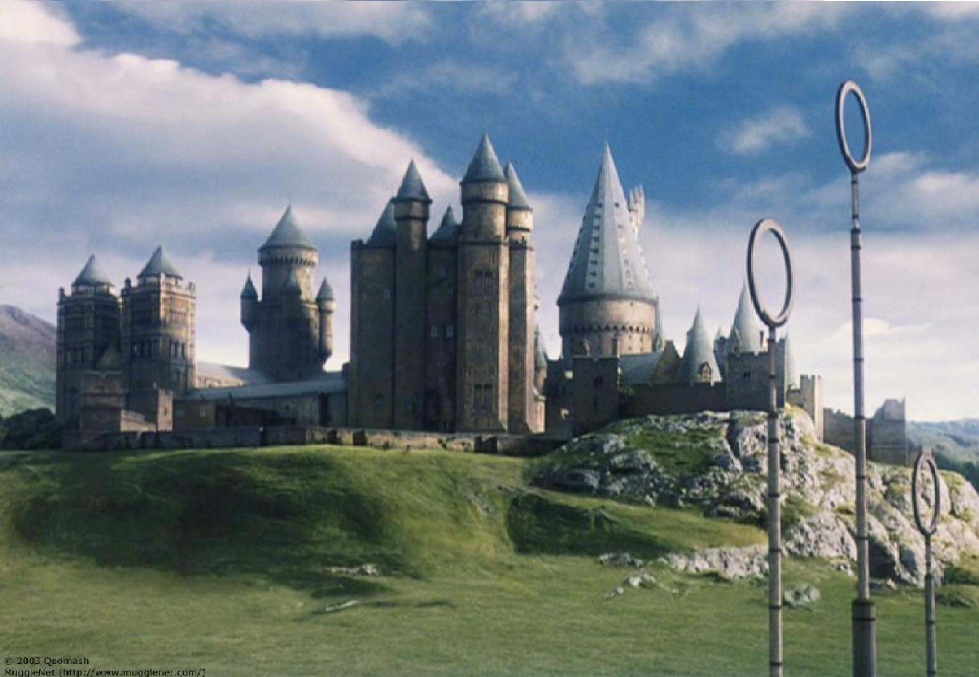 Harry Potter Background Hogwarts - HD Wallpaper