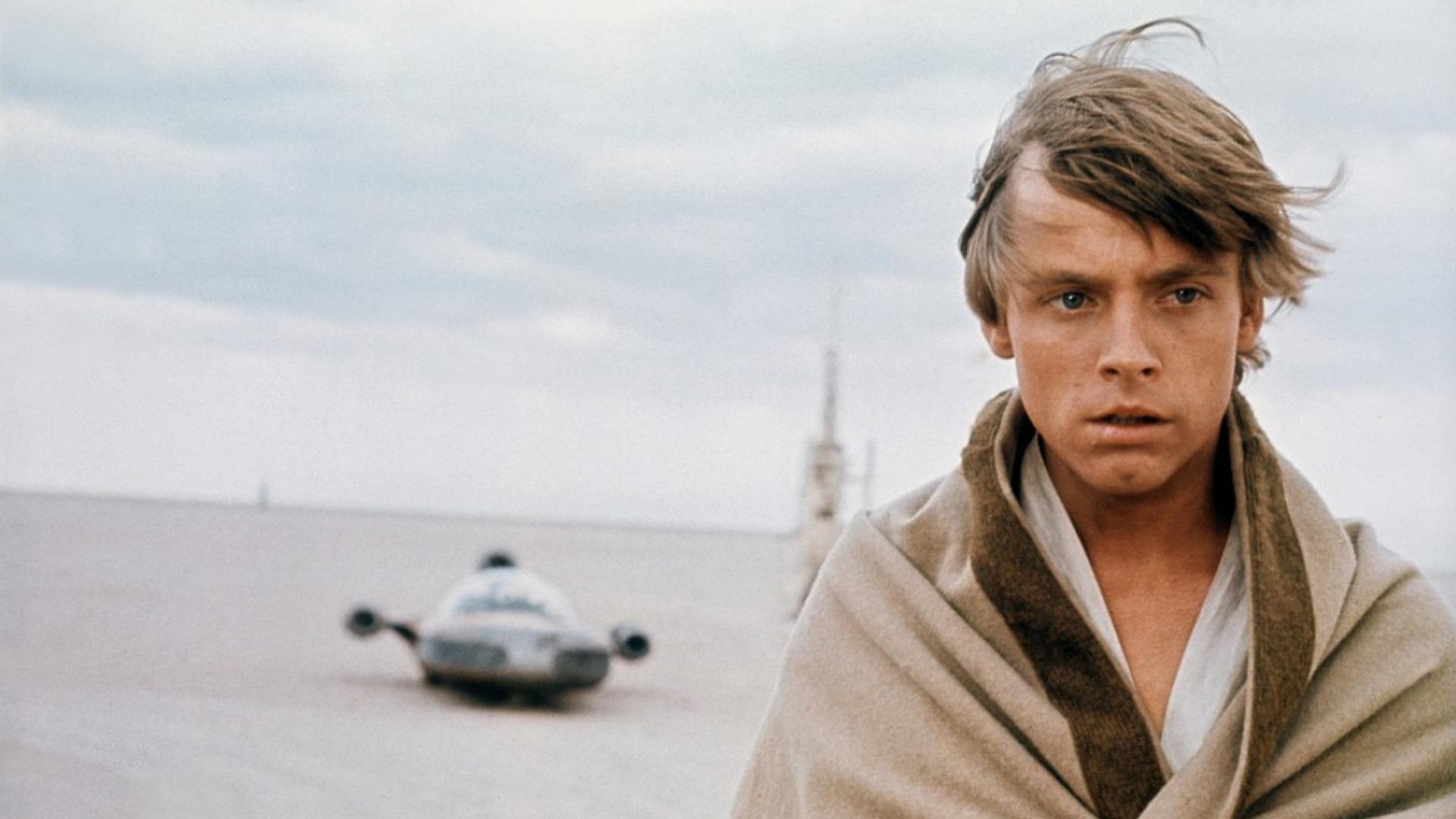 Star Wars Luke Skywalker On Tatooine Hd Wallpaper Luke Skywalker Star Wars Episode 4 1920x1080 Wallpaper Teahub Io