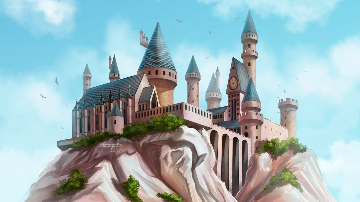 Hogwarts Wallpapers Hd Resolution For Widescreen Wallpaper - Harry Potter Hogwarts - HD Wallpaper