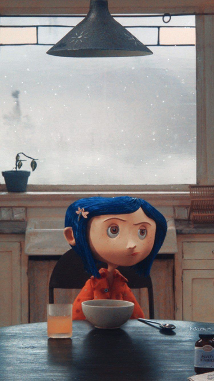 Aesthetic Coraline Wallpaper Iphone 750x1334 Wallpaper Teahub Io