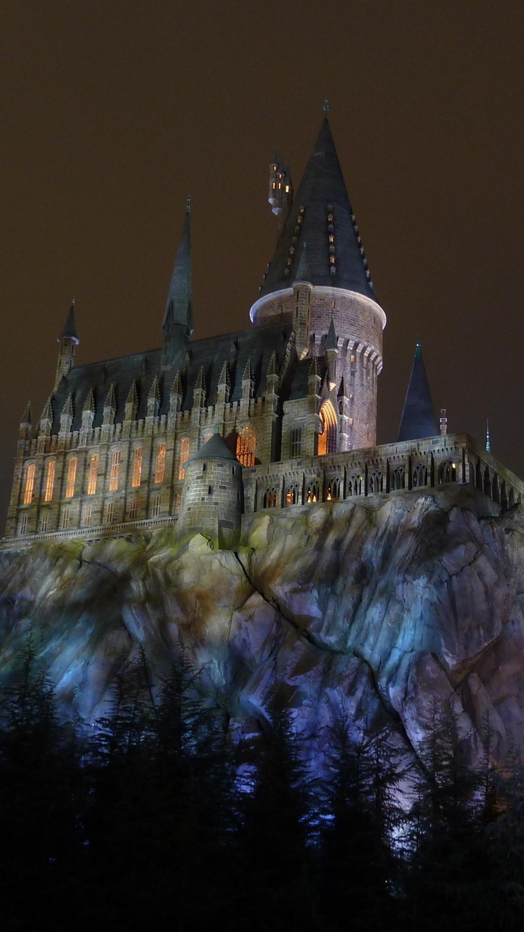 Harry Potter Mobile Wallpaper Hogwarts - HD Wallpaper
