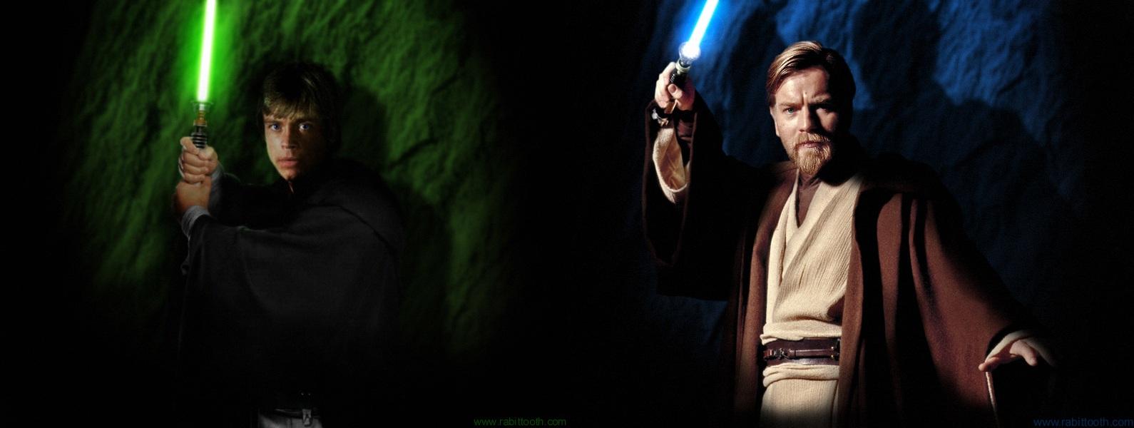 Luke Skywalker Wallpaper Hd Res Luke Skywalker And Obi Wan 1590x600 Wallpaper Teahub Io