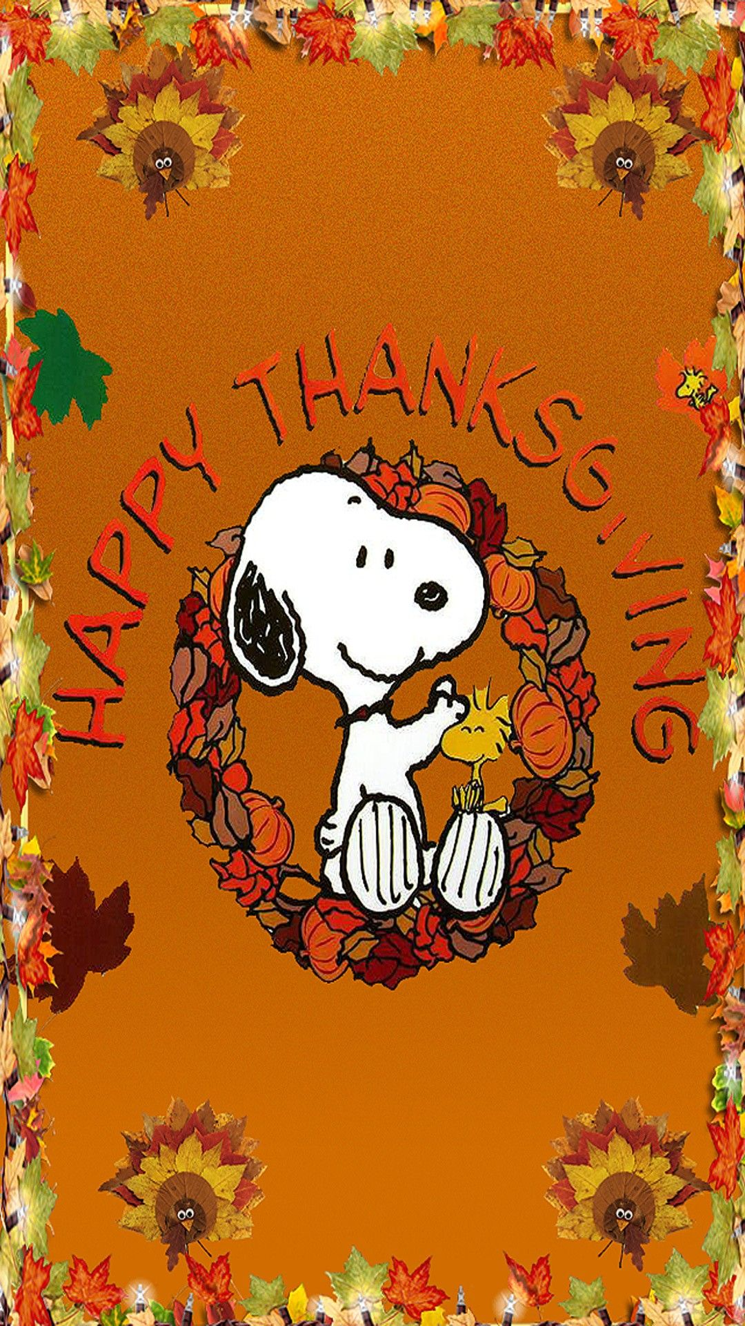 Thanksgiving Wallpaper Iphone Background, Beautiful - Happy Thanksgiving Snoopy - HD Wallpaper