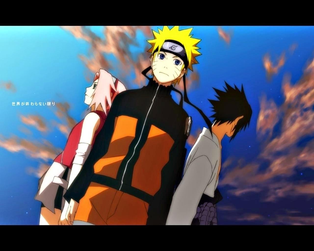 Naruto Anime Live Wallpaper Hd - Sasuke Sakura And Naruto - HD Wallpaper