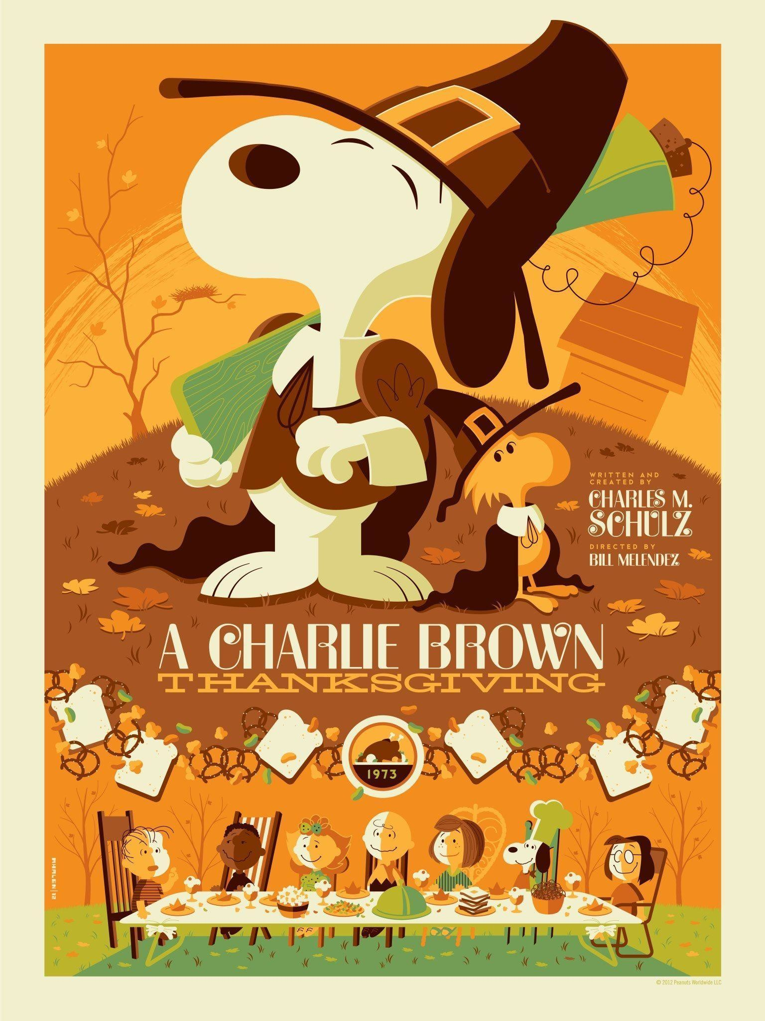 Thanksgiving Holiday Charlie Brown 27776 Hd Wallpapers - Charlie Brown Thanksgiving Poster - HD Wallpaper