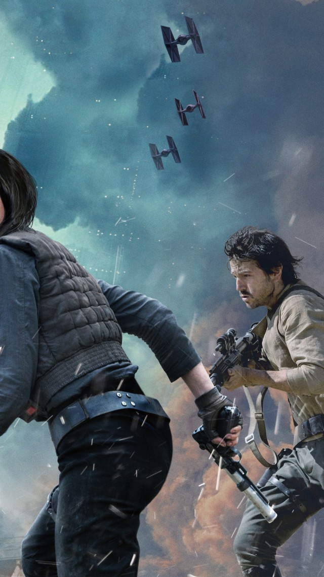 Star Wars Rogue One Wallpaper 640x1138 Wallpaper Teahub Io