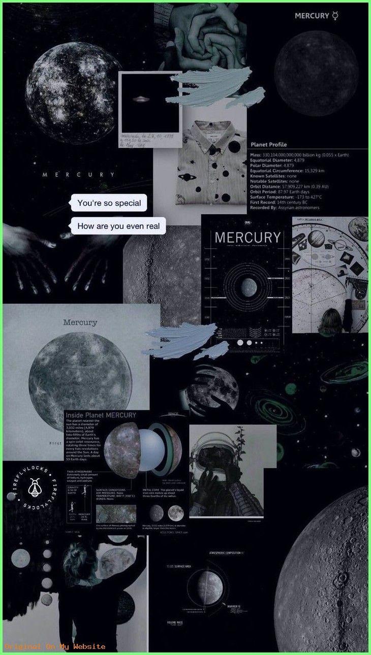 Aesthetic Space Lockscreen - HD Wallpaper