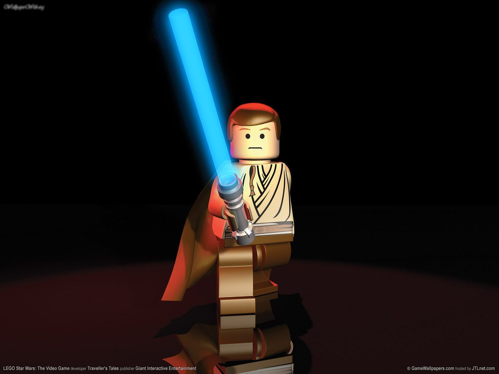 Lego Star Wars Video Game Luke - HD Wallpaper