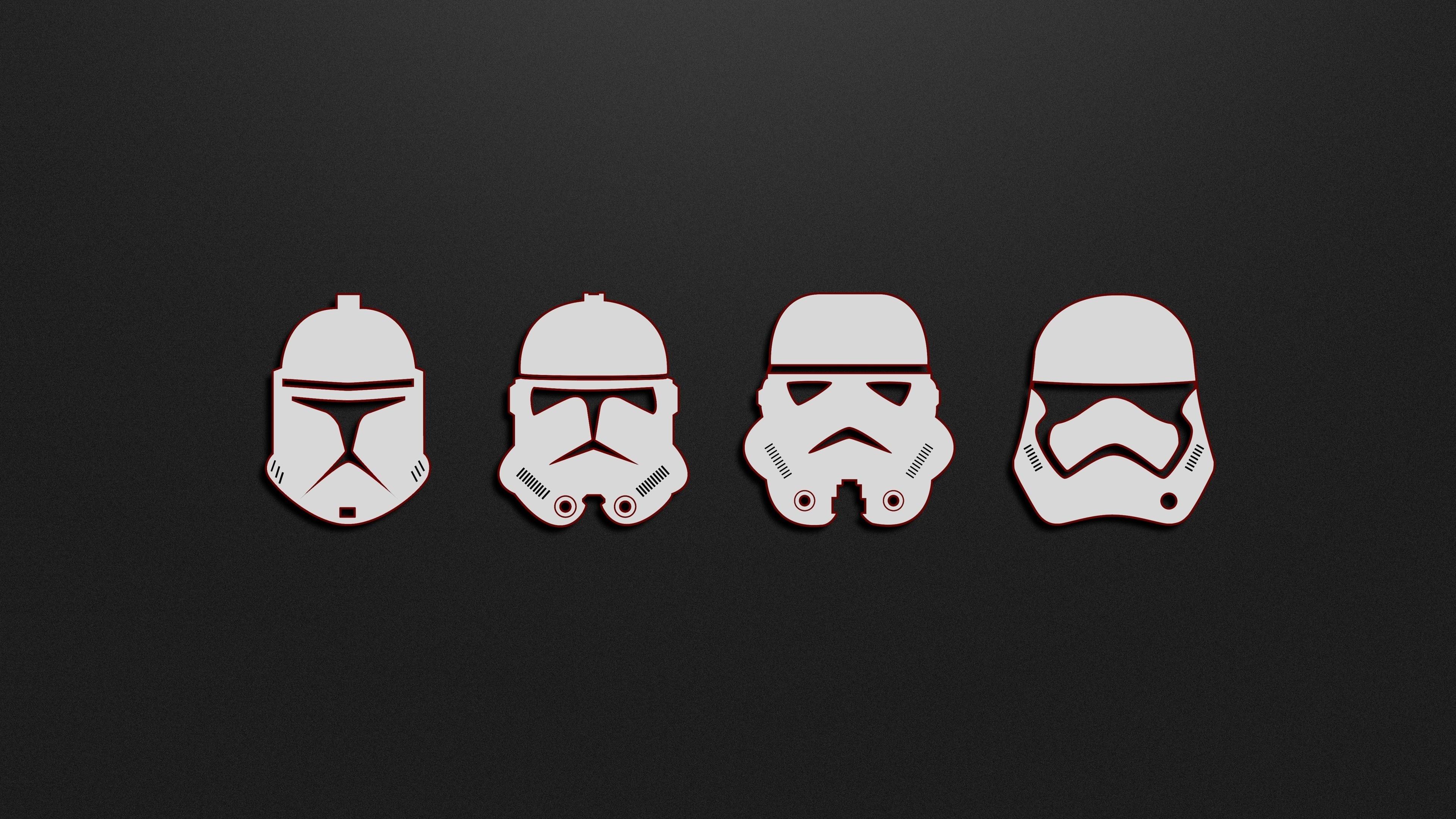 Minimal Soldiers Stormtrooper Star Wars Wallpaper Star Wars Wallpaper Laptop 3840x2160 Wallpaper Teahub Io