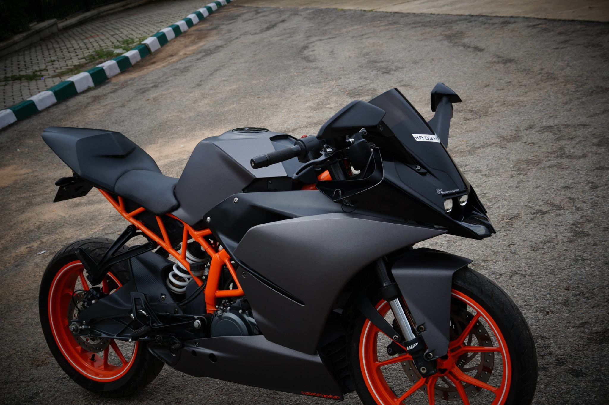 Ktm Rc390 Charcoal Grey Wrap By Wrapcraft Data Src Ktm Rc 200 Hd Images Download 2048x1364 Wallpaper Teahub Io