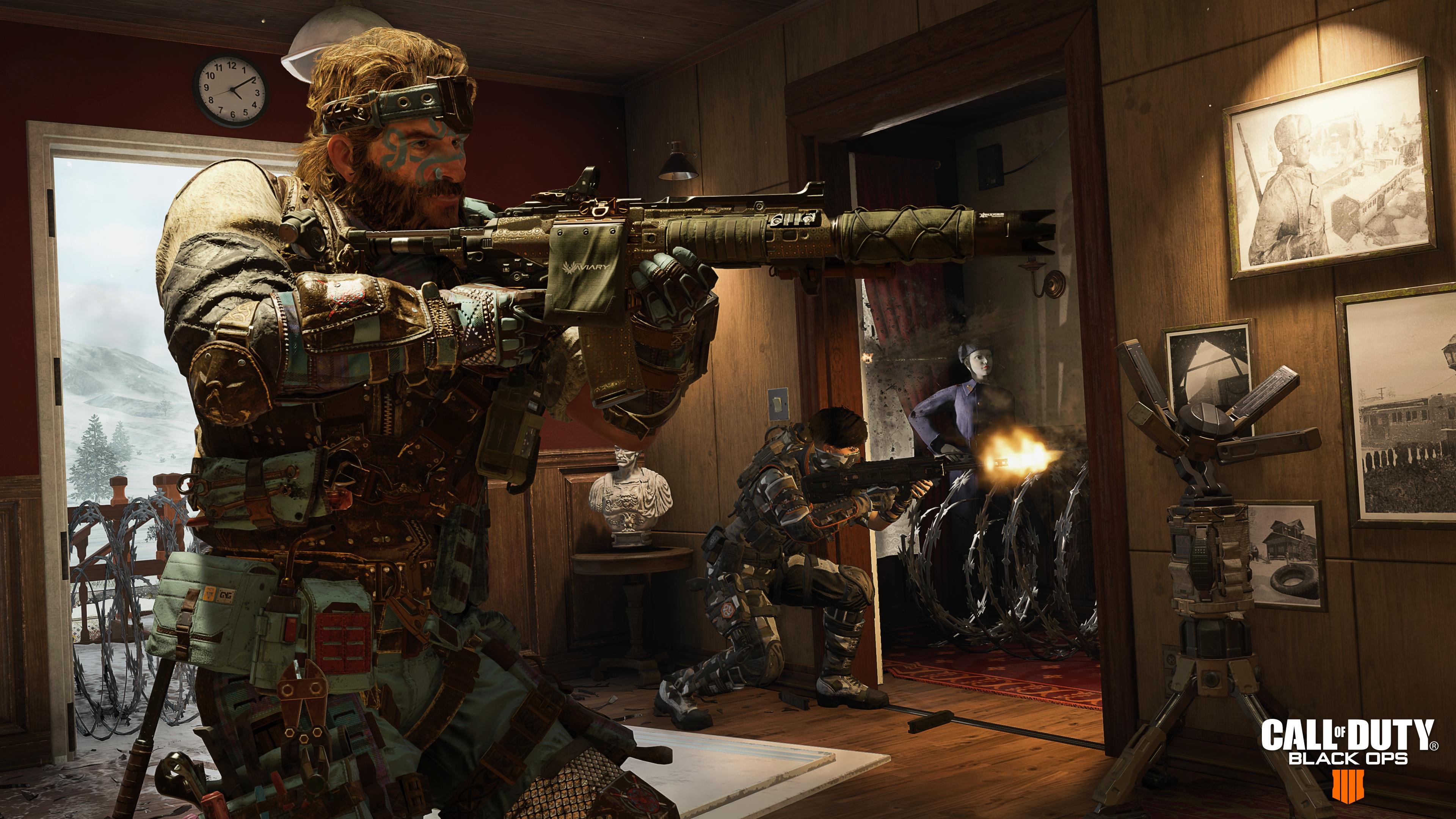 Call Of Duty Black Ops 4 4k - HD Wallpaper