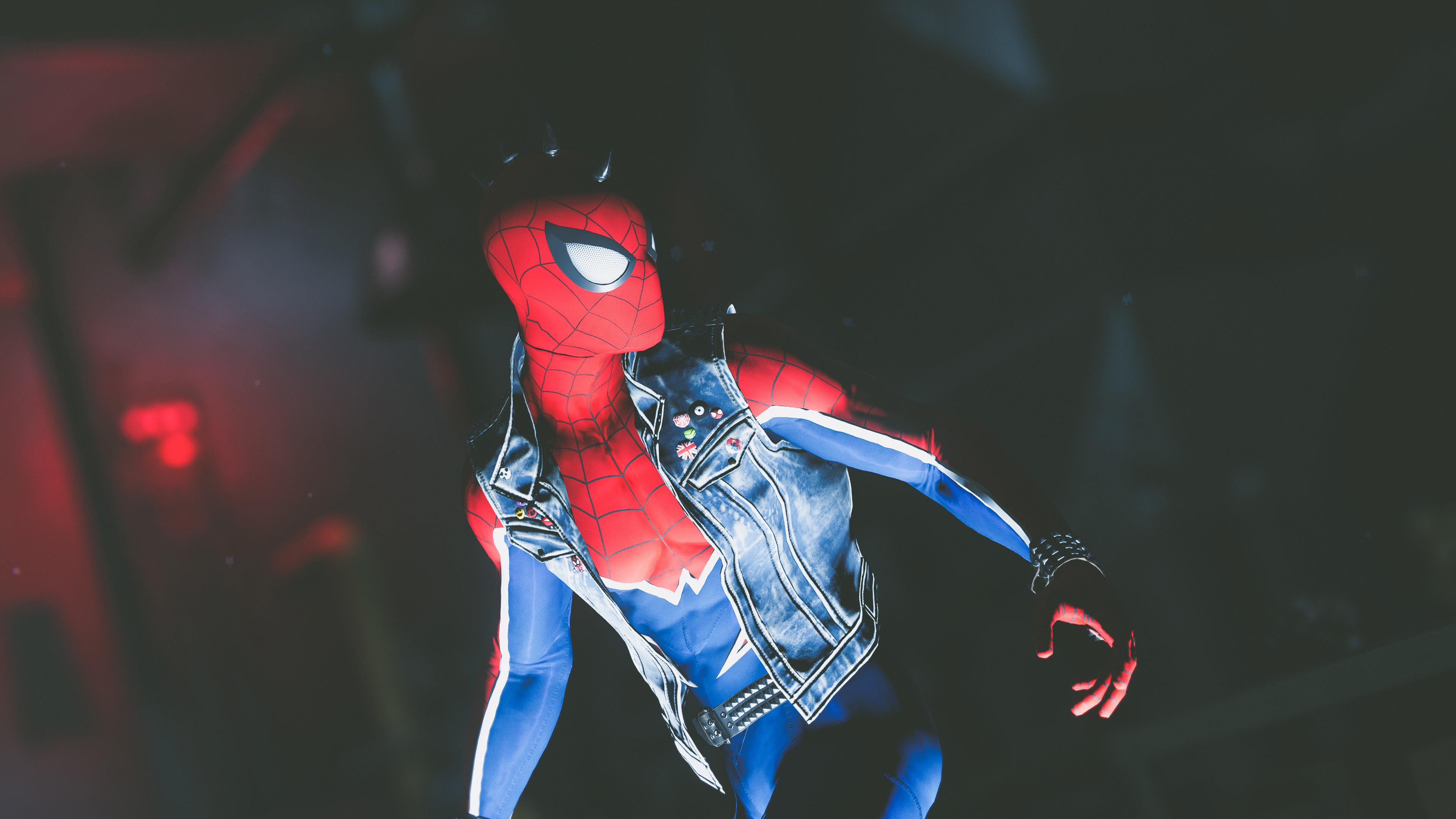 Spiderman Ps4 Hd 4k 3840x2160 Wallpaper Teahub Io