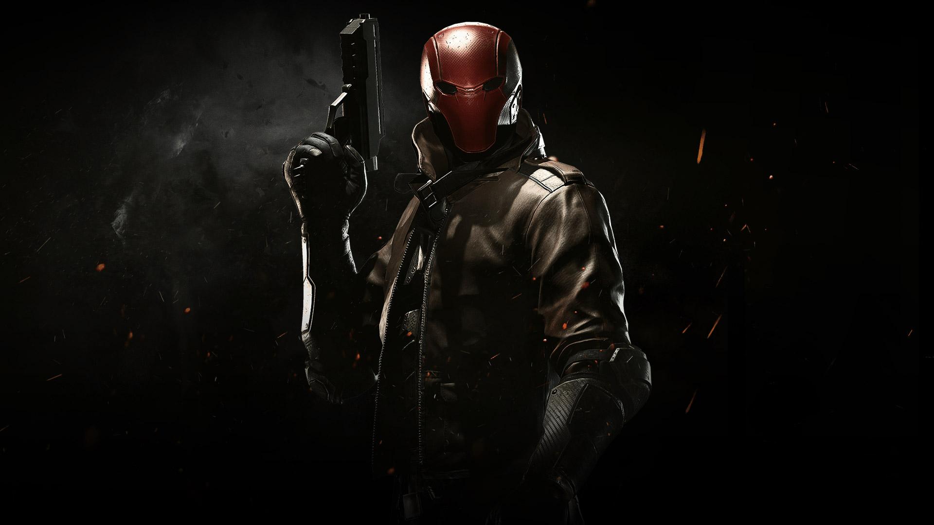 Red Hood Wallpaper Injustice 2 - HD Wallpaper