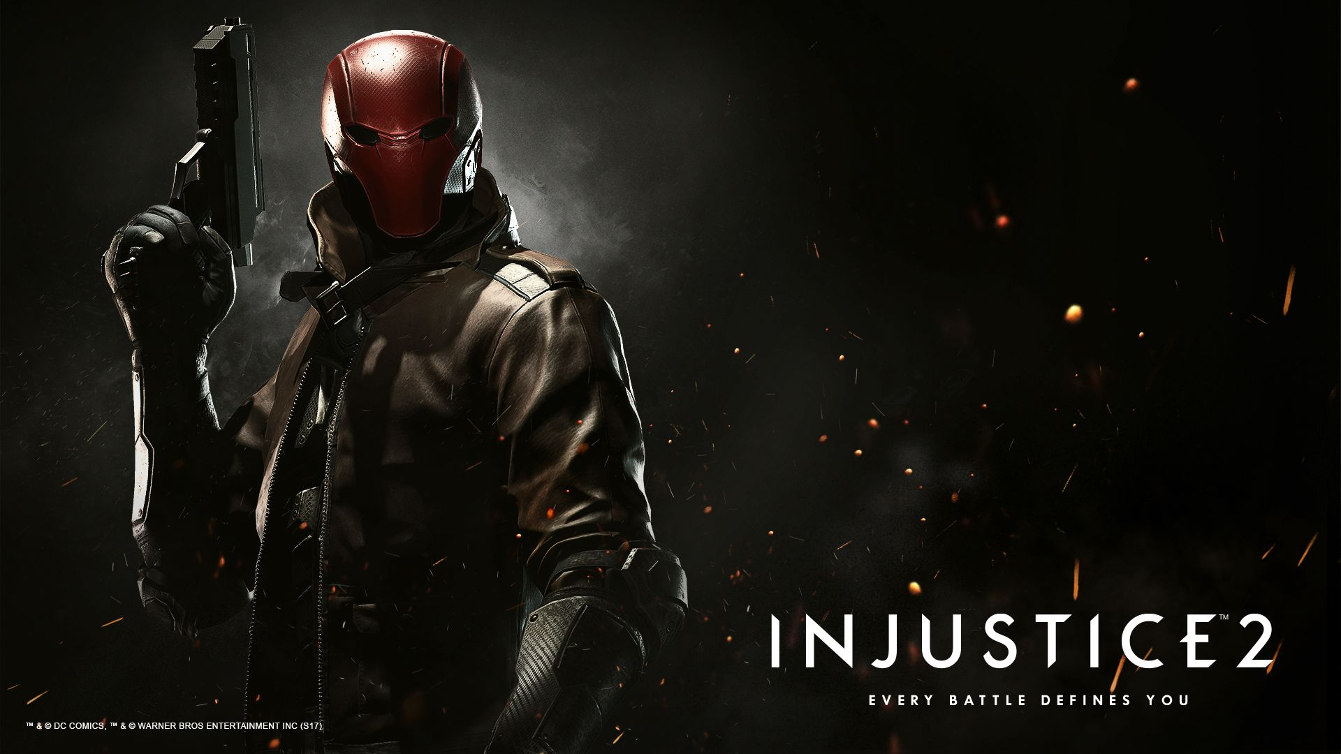 Red Hood Injustice 2 - HD Wallpaper