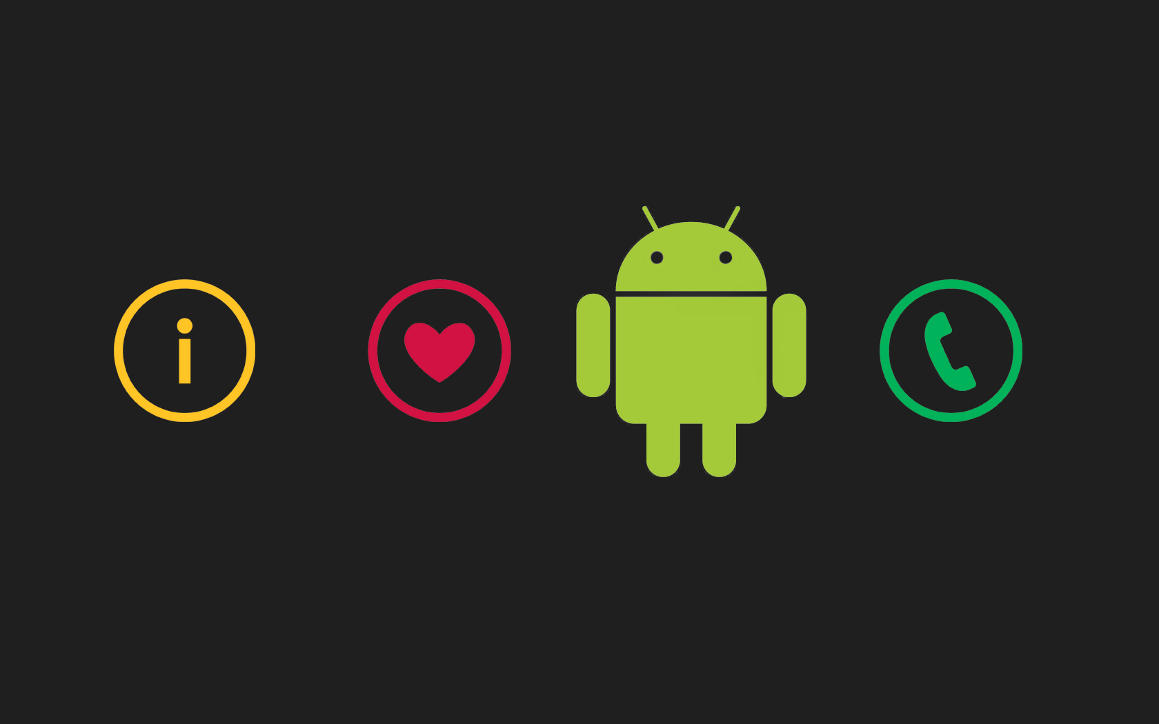 Android I Love Wallpaper Free Download - Android Logo Wallpaper For Mobile - HD Wallpaper