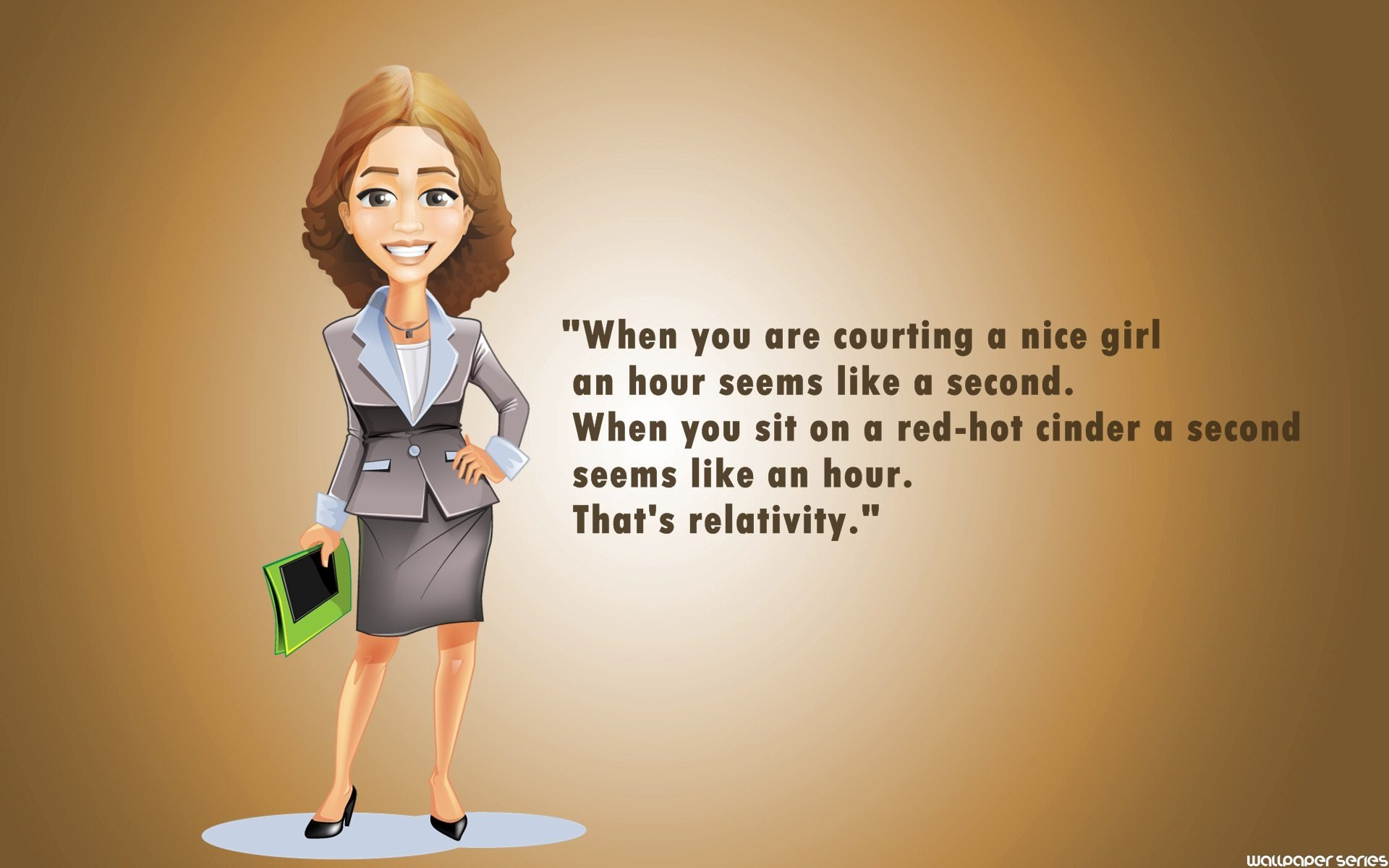 Funny Nice Girl Quotes Wallpaper - Funny Cartoon Girl Quotes - HD Wallpaper