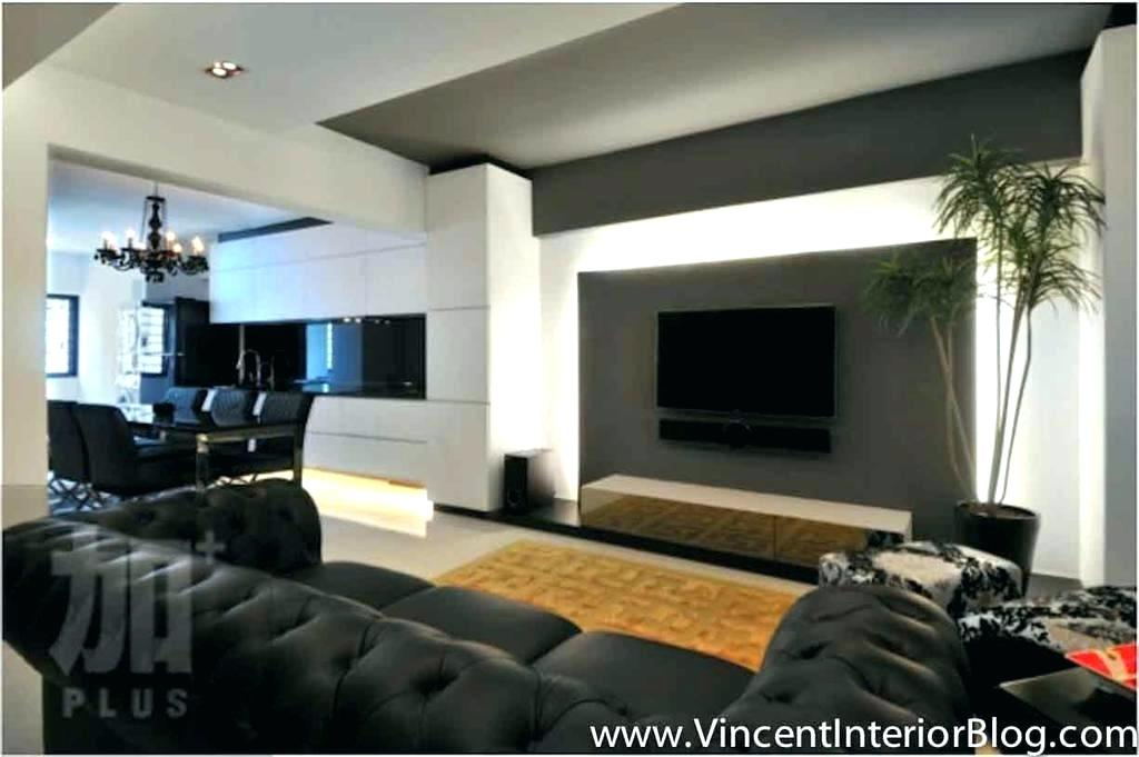 Wallpaper And Paint Ideas Living Room Feature Wall - Living Room Feature Wall Design - HD Wallpaper