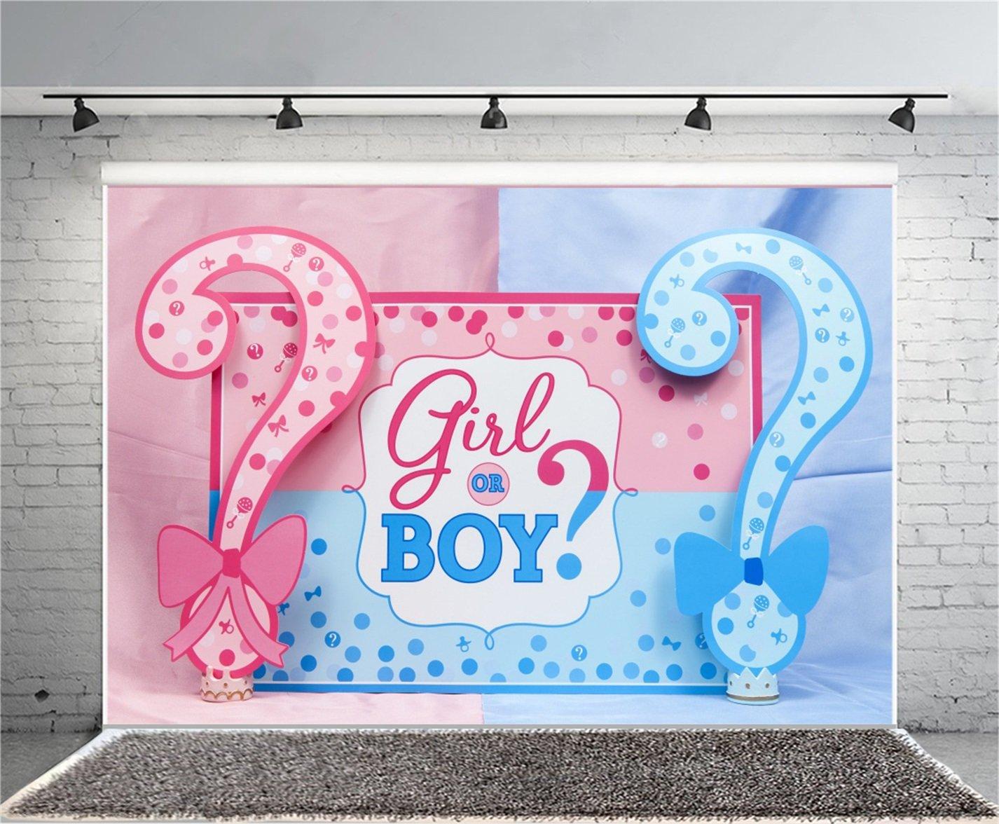 Baby Shower Backdrop Girl Or A Boy - HD Wallpaper
