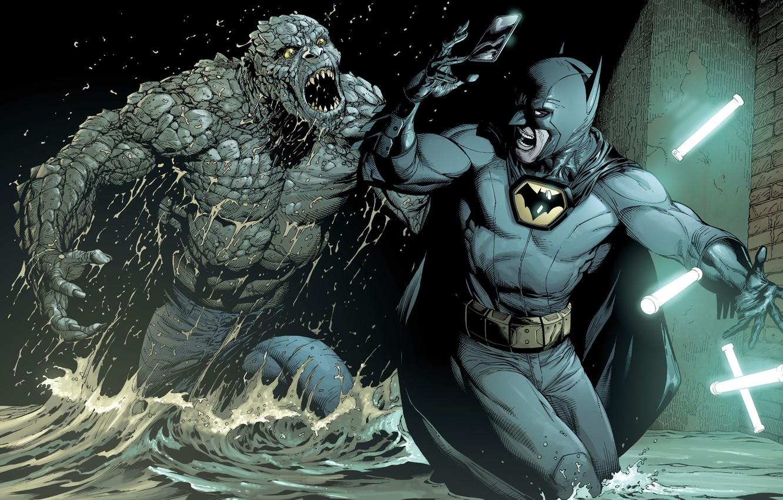 Photo Wallpaper Water, Light, Batman, Hero, Comic, - Batman Earth One Volume 2 - HD Wallpaper