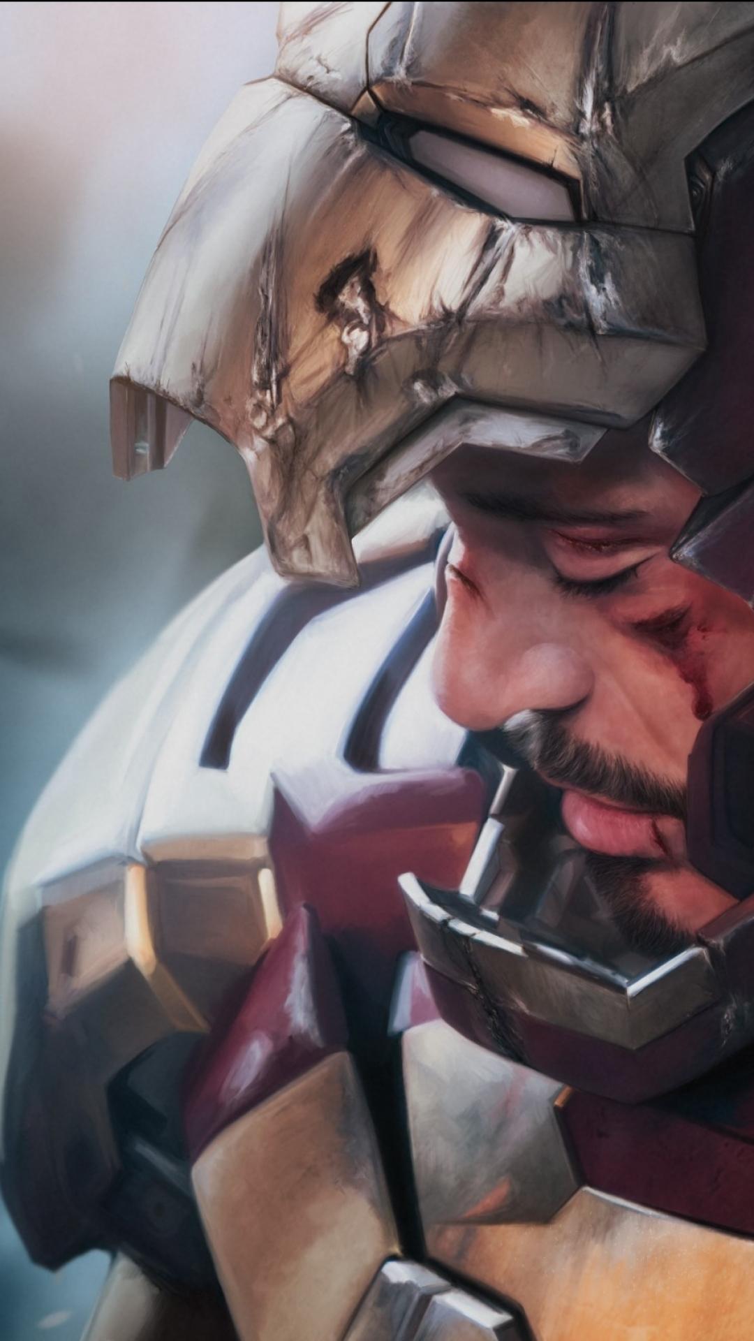 Tony Stark Wallpaper 4k For Mobile - HD Wallpaper