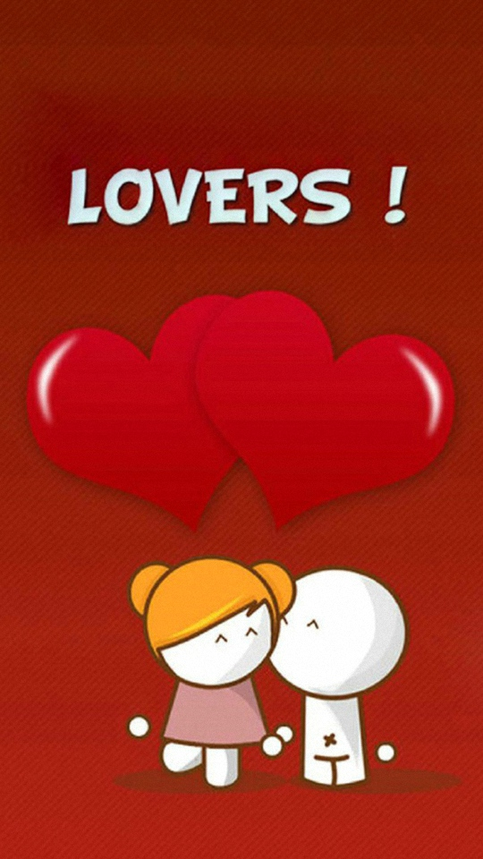 Hd Cartoon Love Samsung Galaxy Wallpapers Happy New Year Love Msg 540x960 Wallpaper Teahub Io