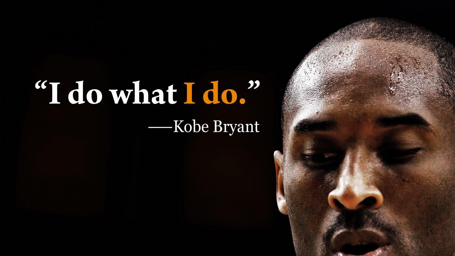 Kobe Bryant Quotes Wallpapers Hd - Kobe Bryant Quotes Wallpaper Hd - HD Wallpaper