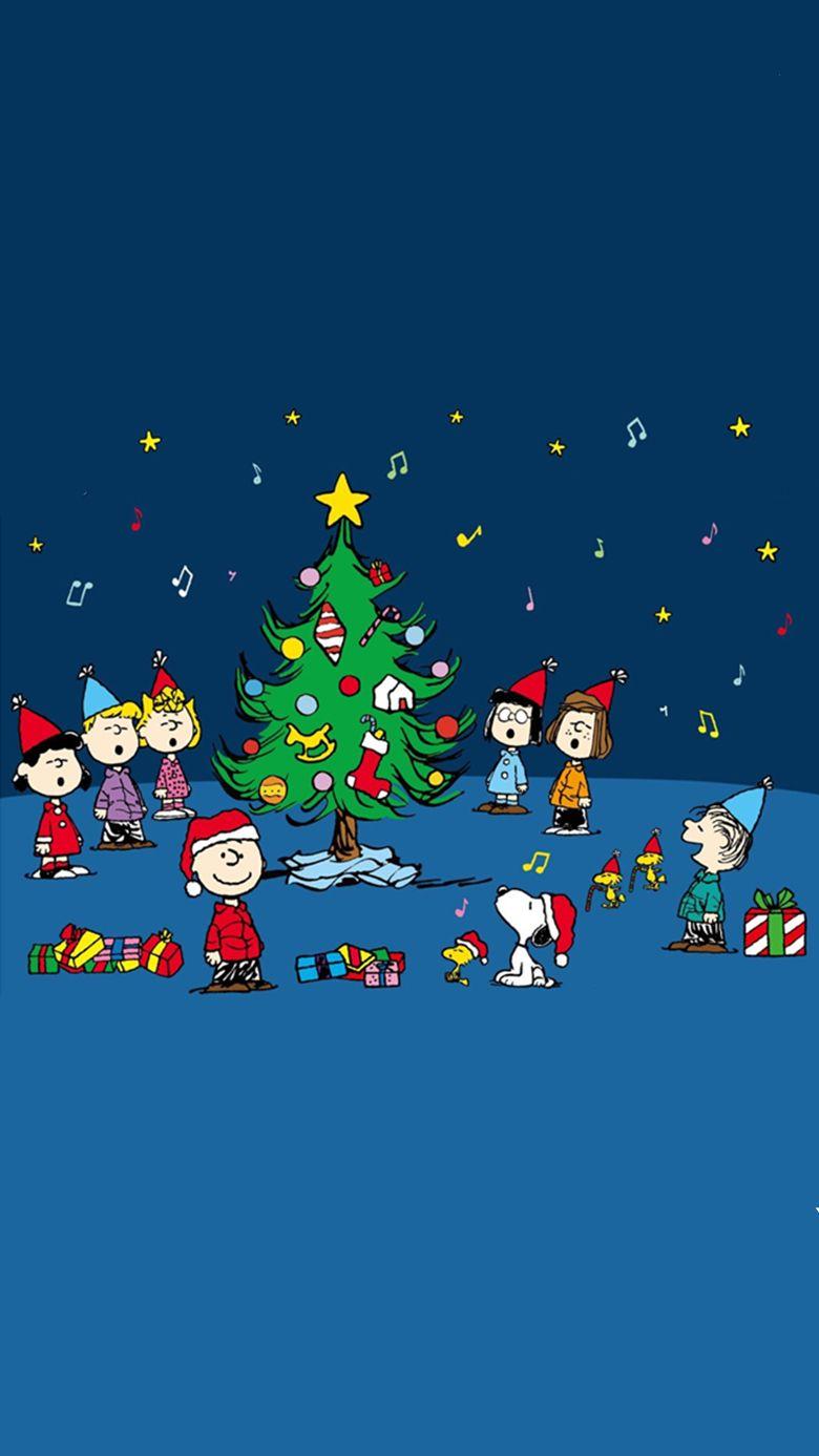 Charlie Brown Christmas Phone Wallpaper - Charlie Brown Christmas Phone Background - HD Wallpaper