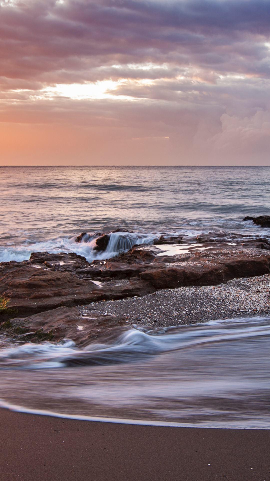 Beach Sunset Iphone Wallpaper - Little Things Jon Kabat Zinn - HD Wallpaper