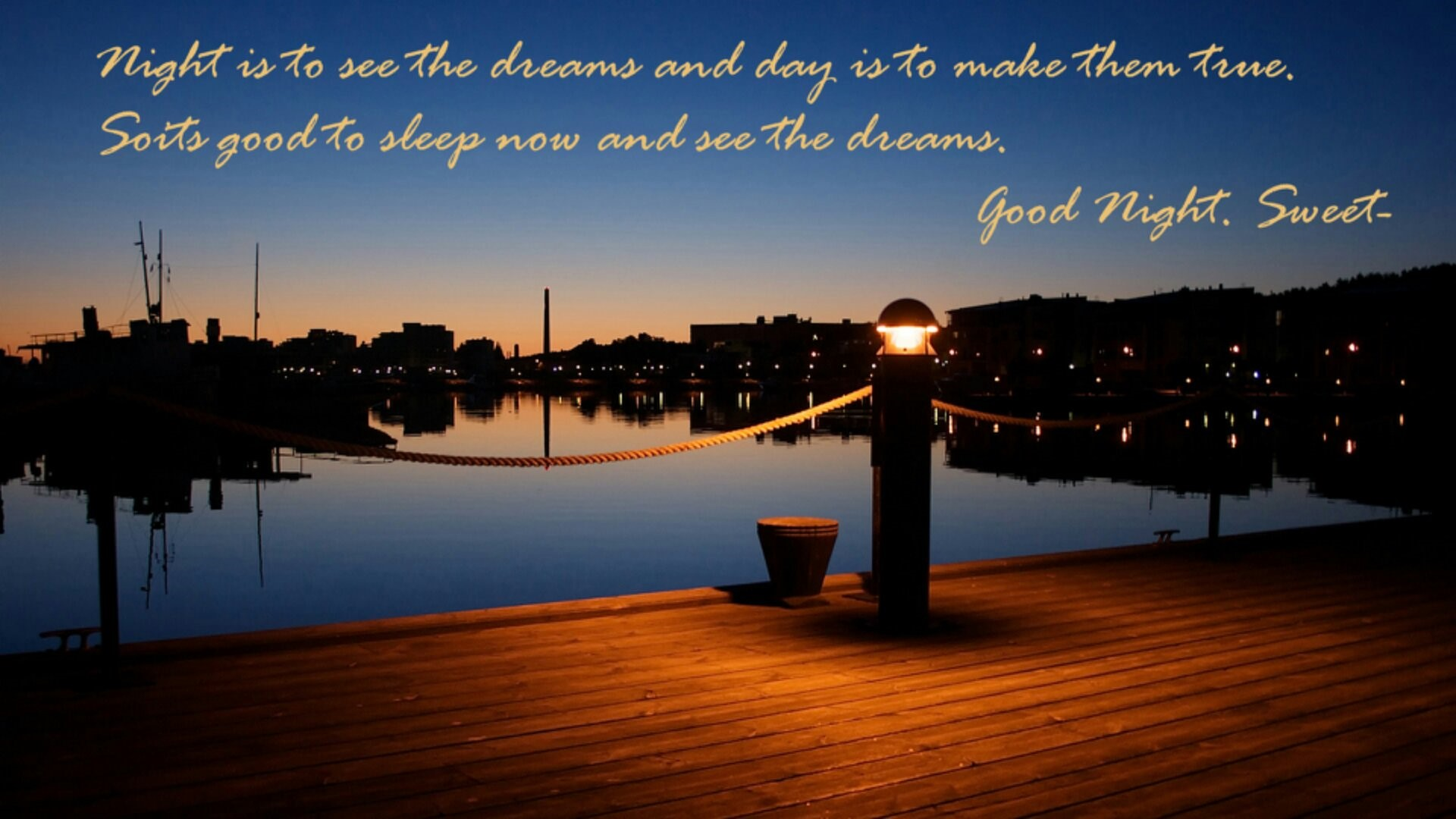Beautiful Good Nights Quotes Wishes Hd Images - Quotes About Night View - HD Wallpaper