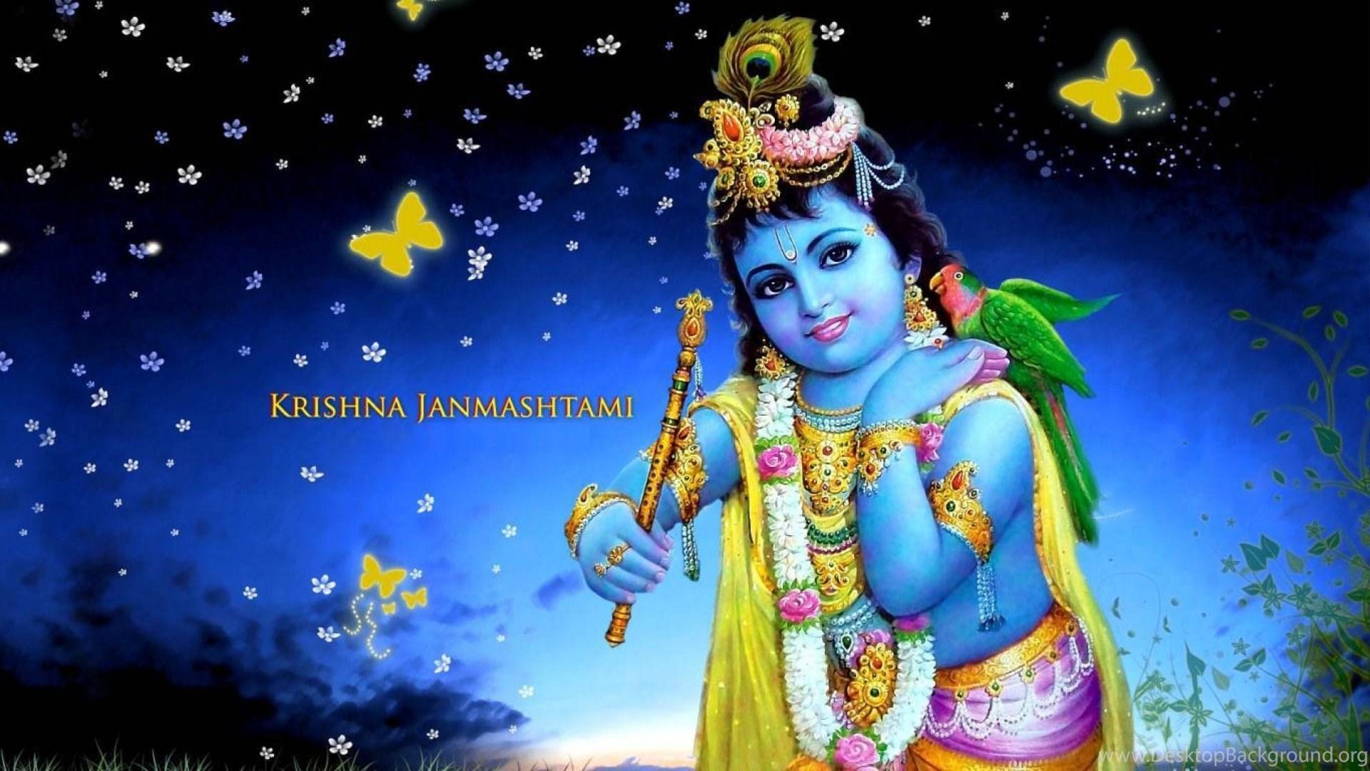 Lord Krishna Background - Ultra Hd Krishna Images Hd - HD Wallpaper