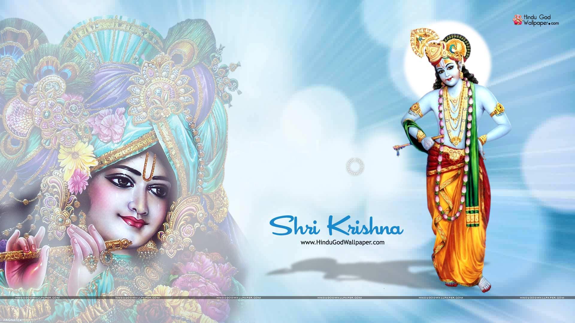 Lord Krishna Hd Wallpapers 1920x1080 Download - HD Wallpaper