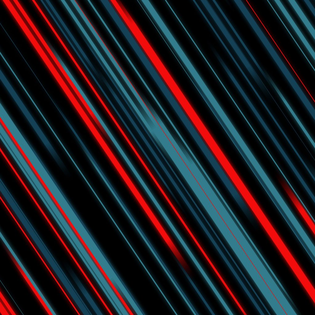 Abstract Material Style Lines Blue Red 4k Wallpaper Android Wallpaper Marshmallow 1024x1024 Wallpaper Teahub Io