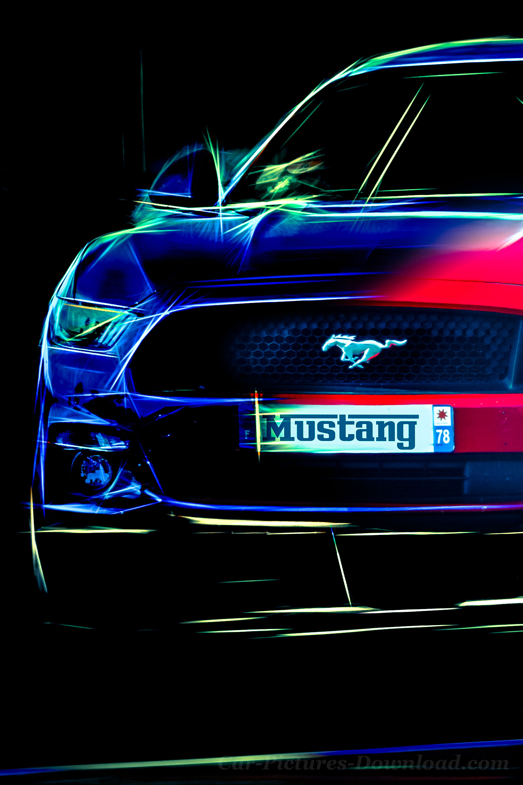 New Ford Mustang Race Car Phone Wallpaper Hd Free Car Mustang Cool Backgrounds 1690x2535 Wallpaper Teahub Io