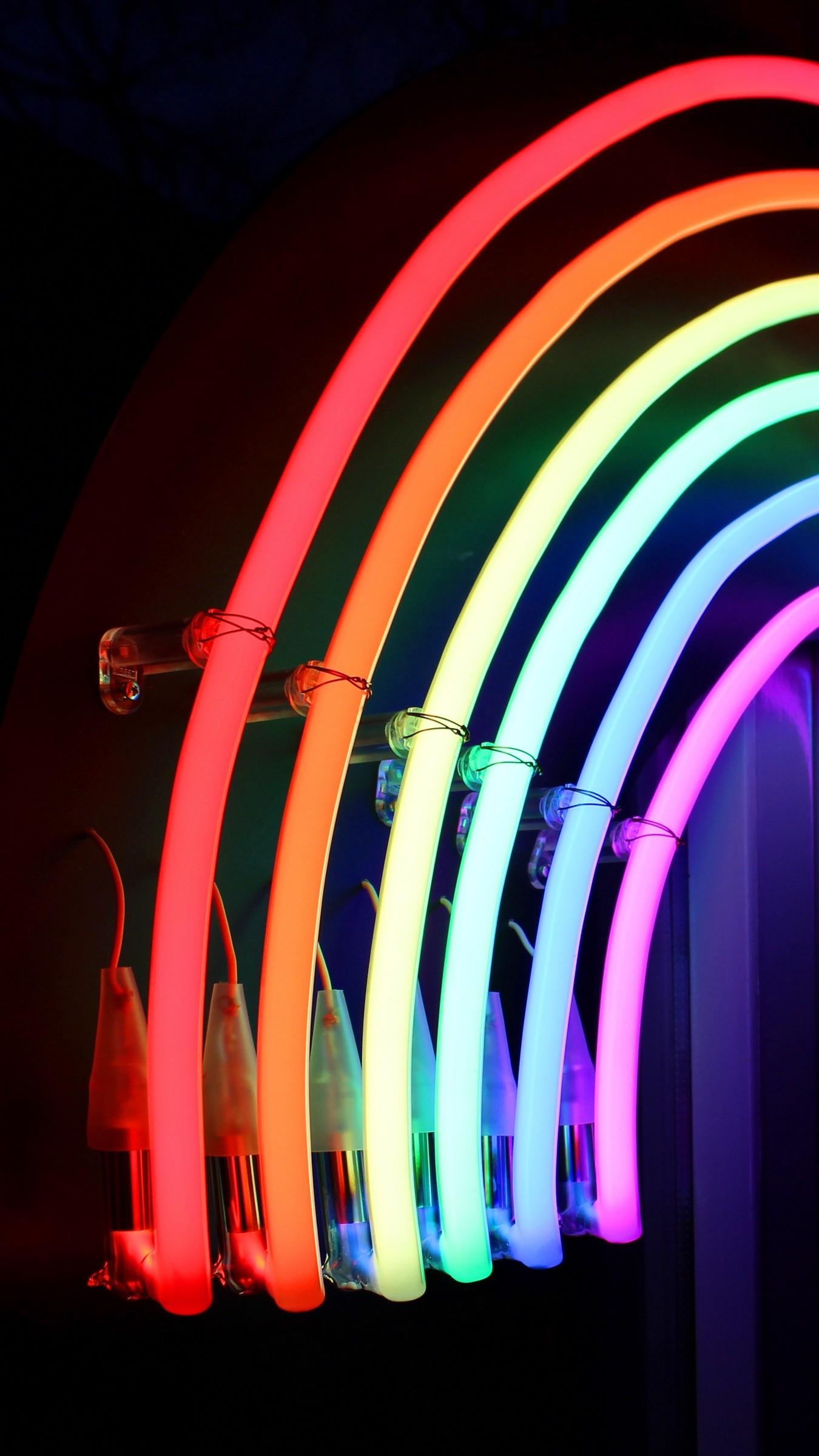 Wallpaper Neon, Light, Lamp, Bright, Lines   Data Src - Neon Light Iphone Background - HD Wallpaper