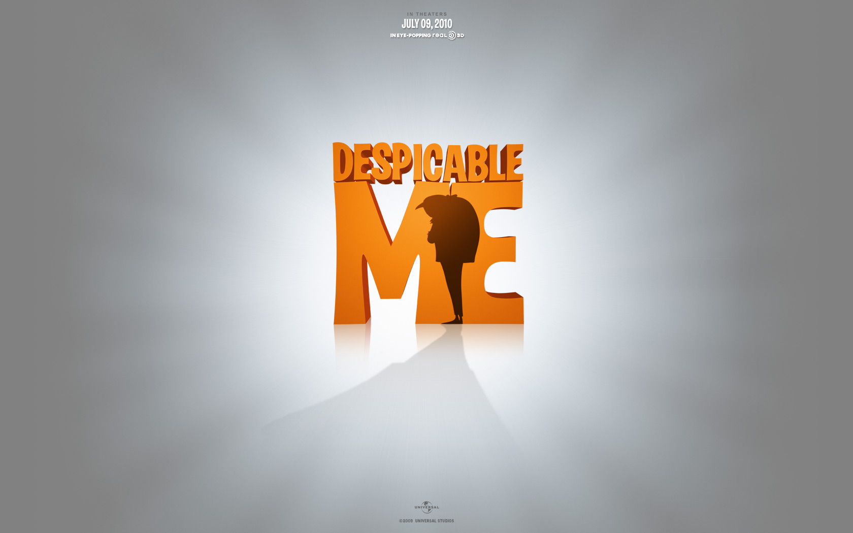 Despicable Me 1 Wide Movie Poster - HD Wallpaper