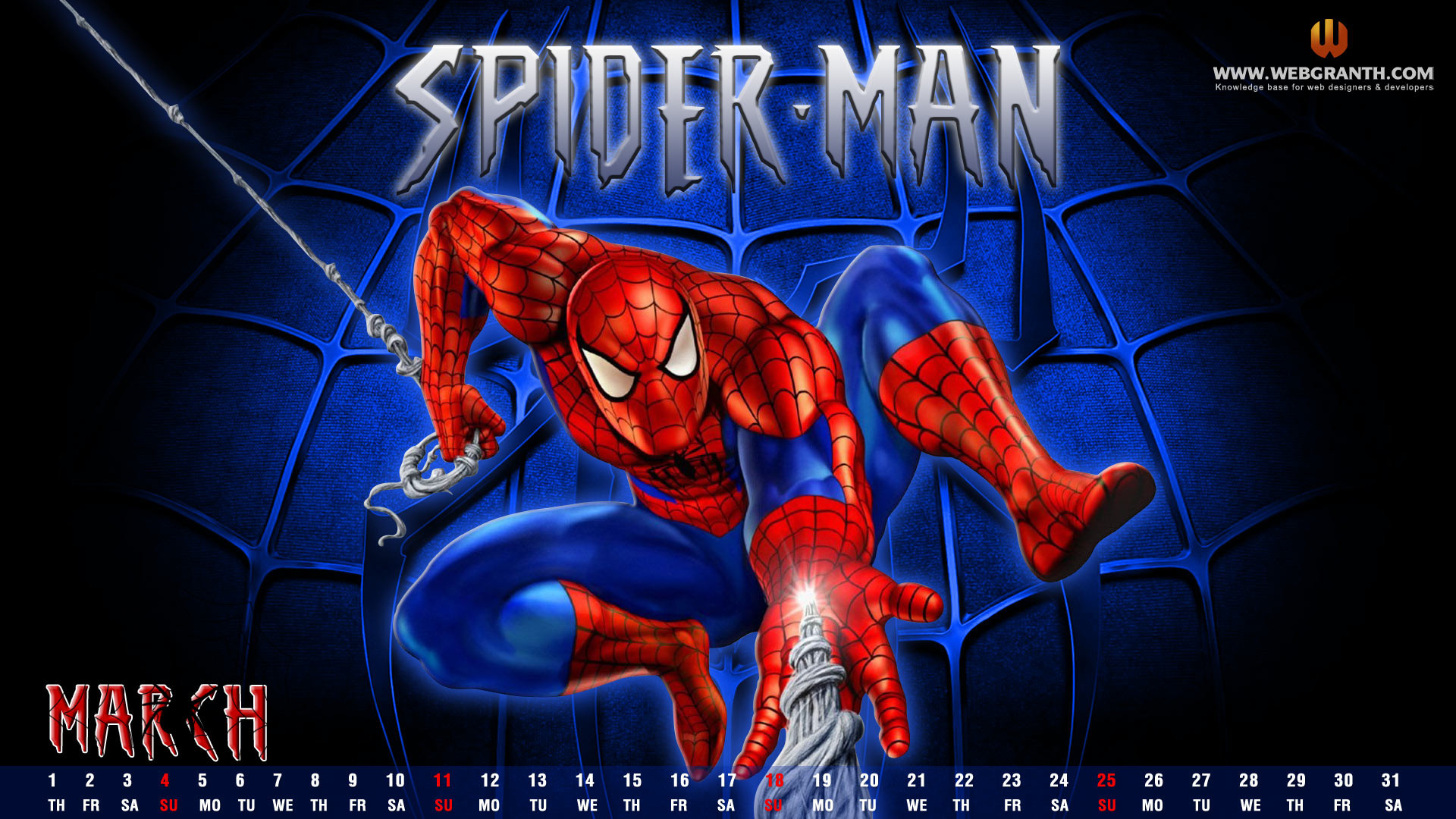 1920x1080, Spiderman Cartoon Wallpaper   Data Id 315211 - Cartoon Wallpaper Spider Man - HD Wallpaper